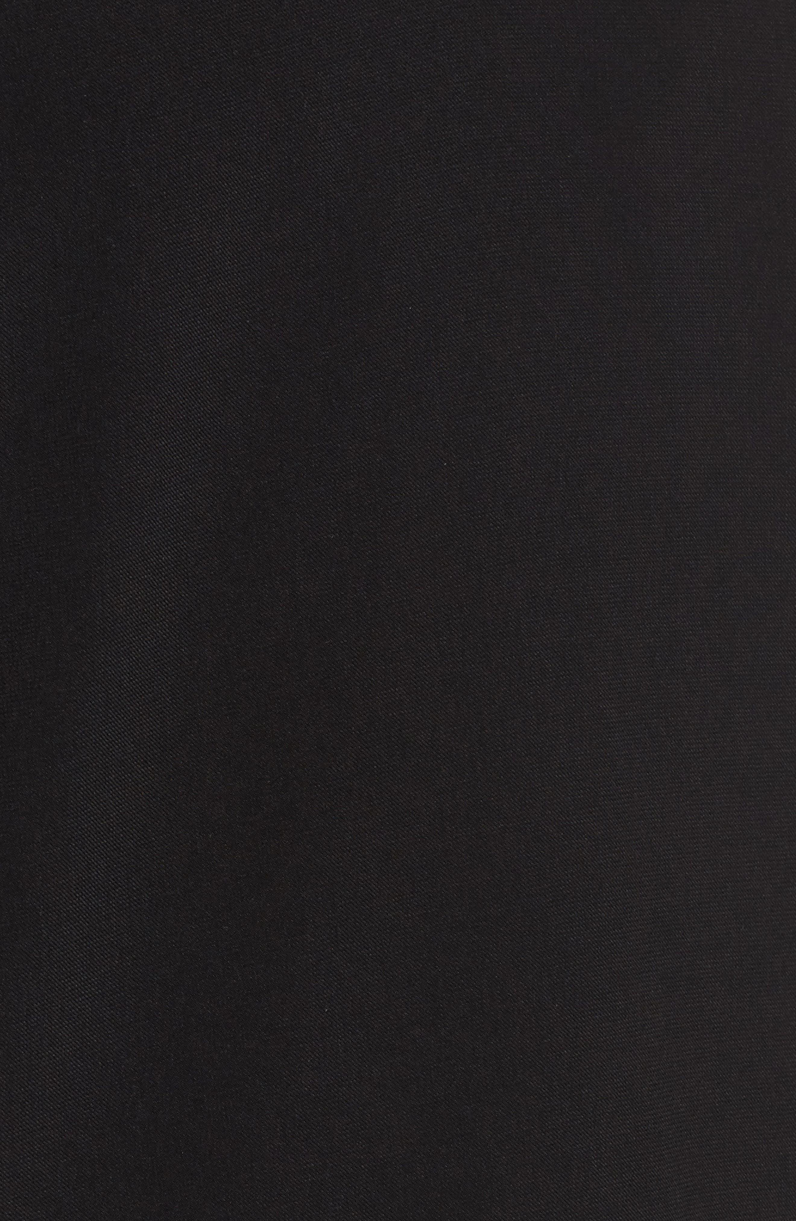 Choker Lace Top,                             Alternate thumbnail 5, color,                             Black