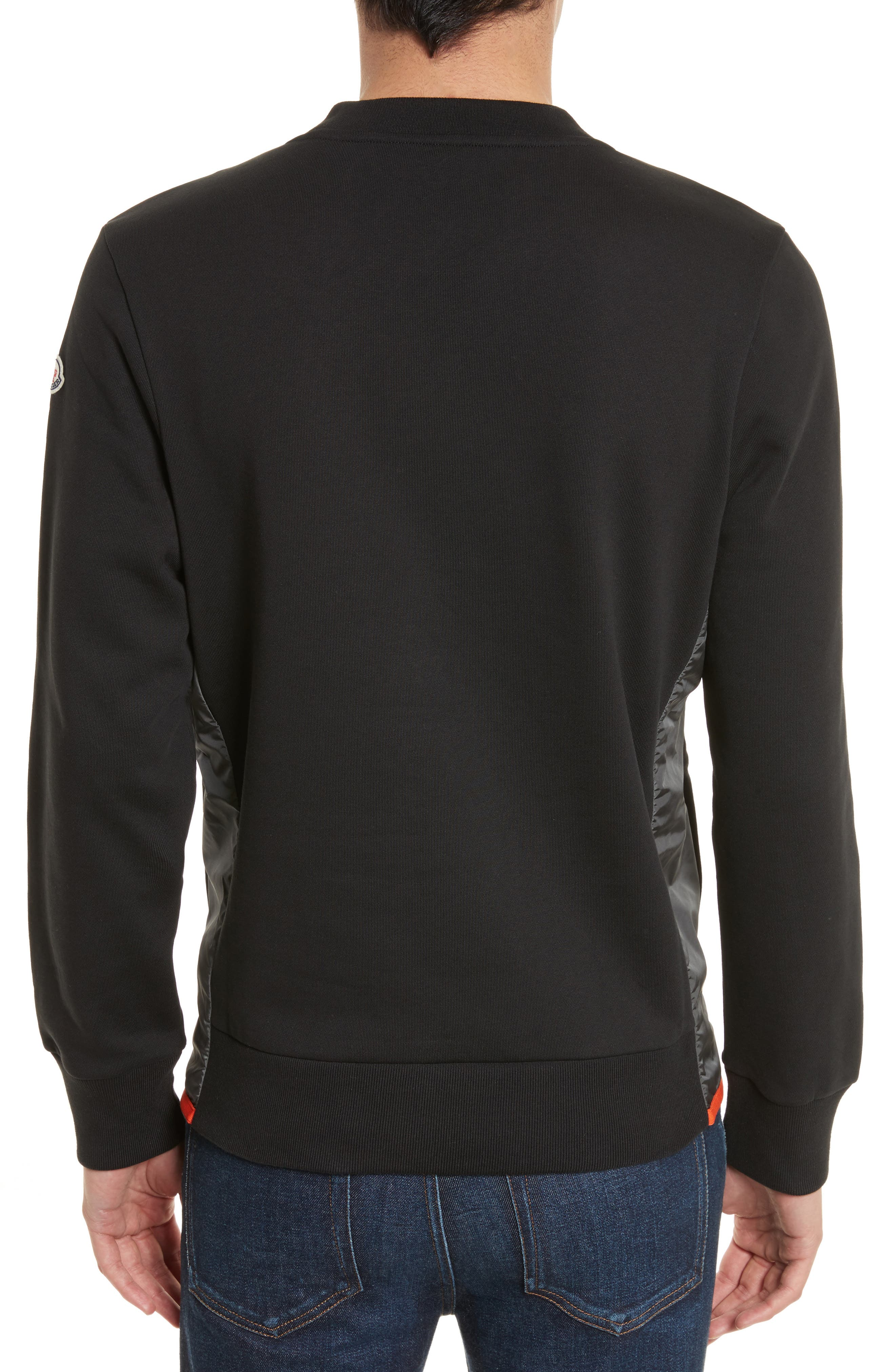 Maglia Crewneck Sweatshirt,                             Alternate thumbnail 2, color,                             Black