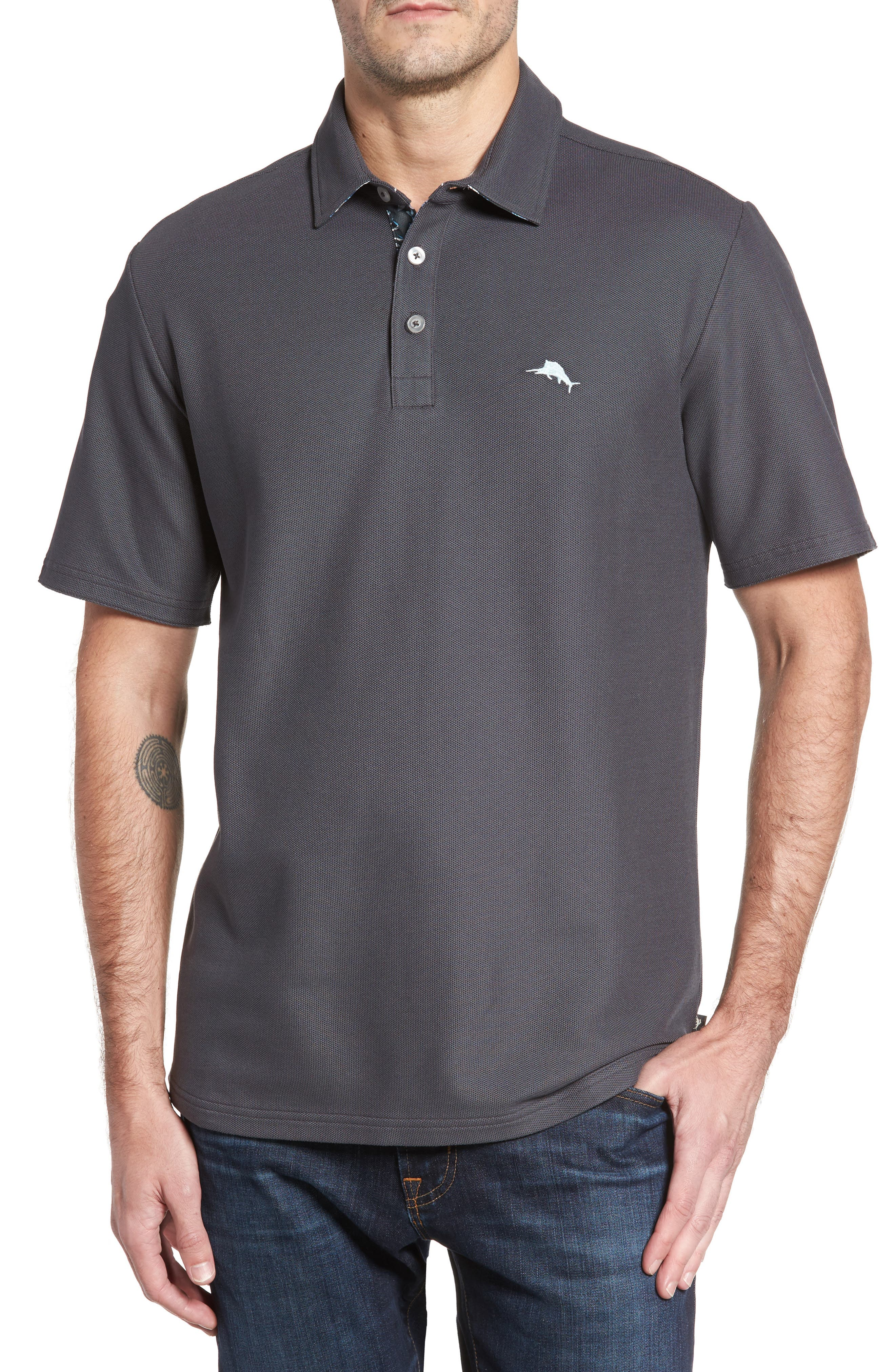 Alternate Image 1 Selected - Tommy Bahama Limited Edition Five OClock Piqué Polo