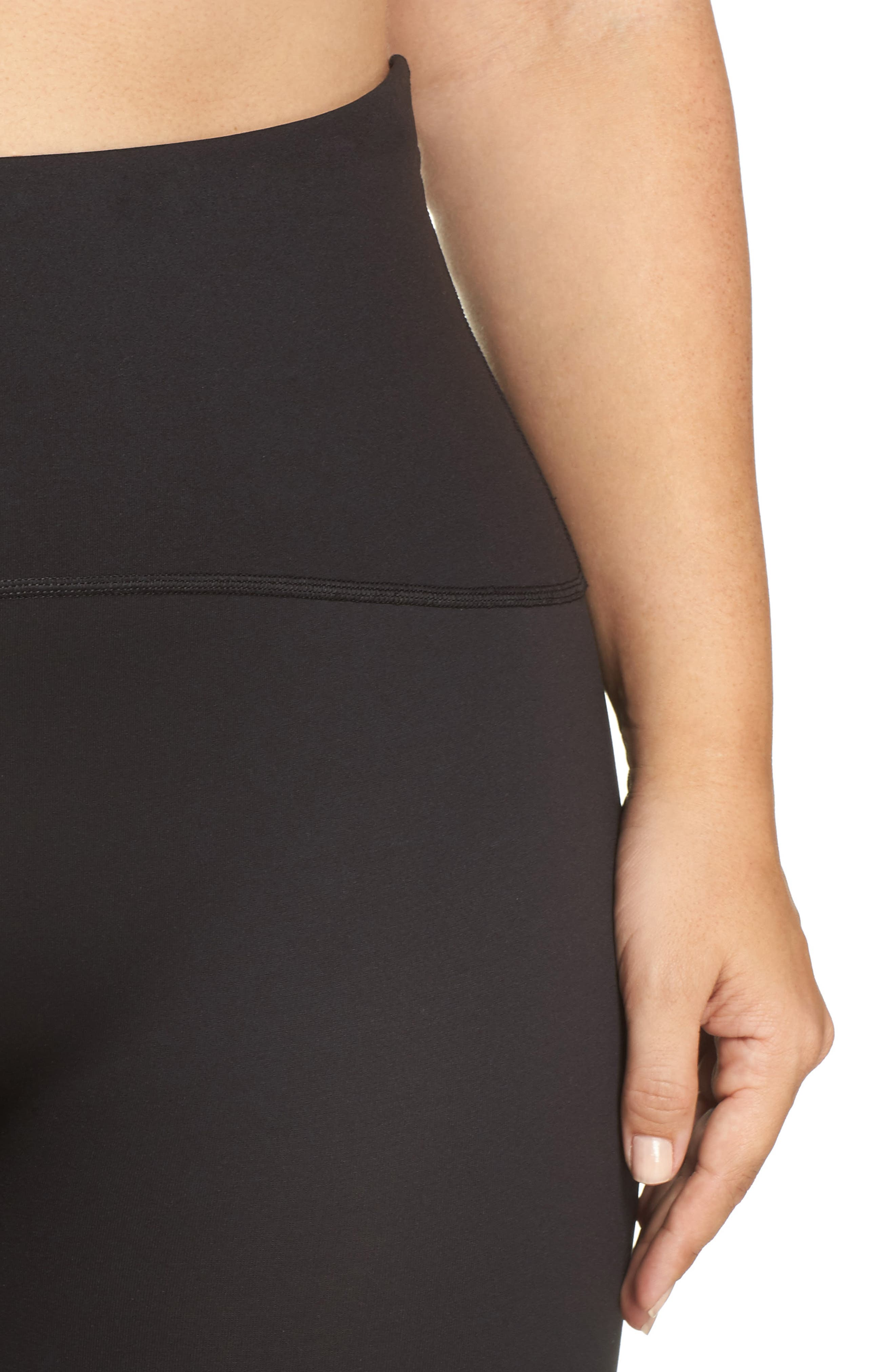 Alternate Image 4  - SPANX® Sport Compression Shorts (Plus Size)