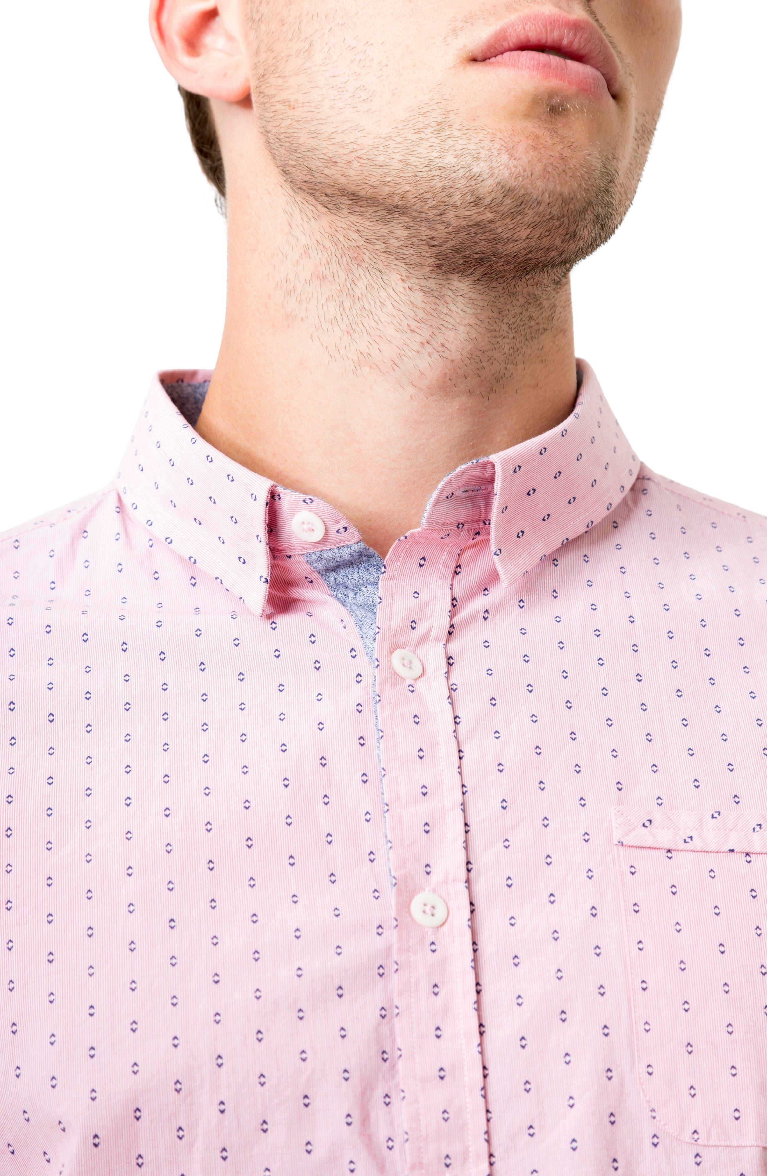 Alternate Image 4  - 7 Diamonds Automation Woven Shirt