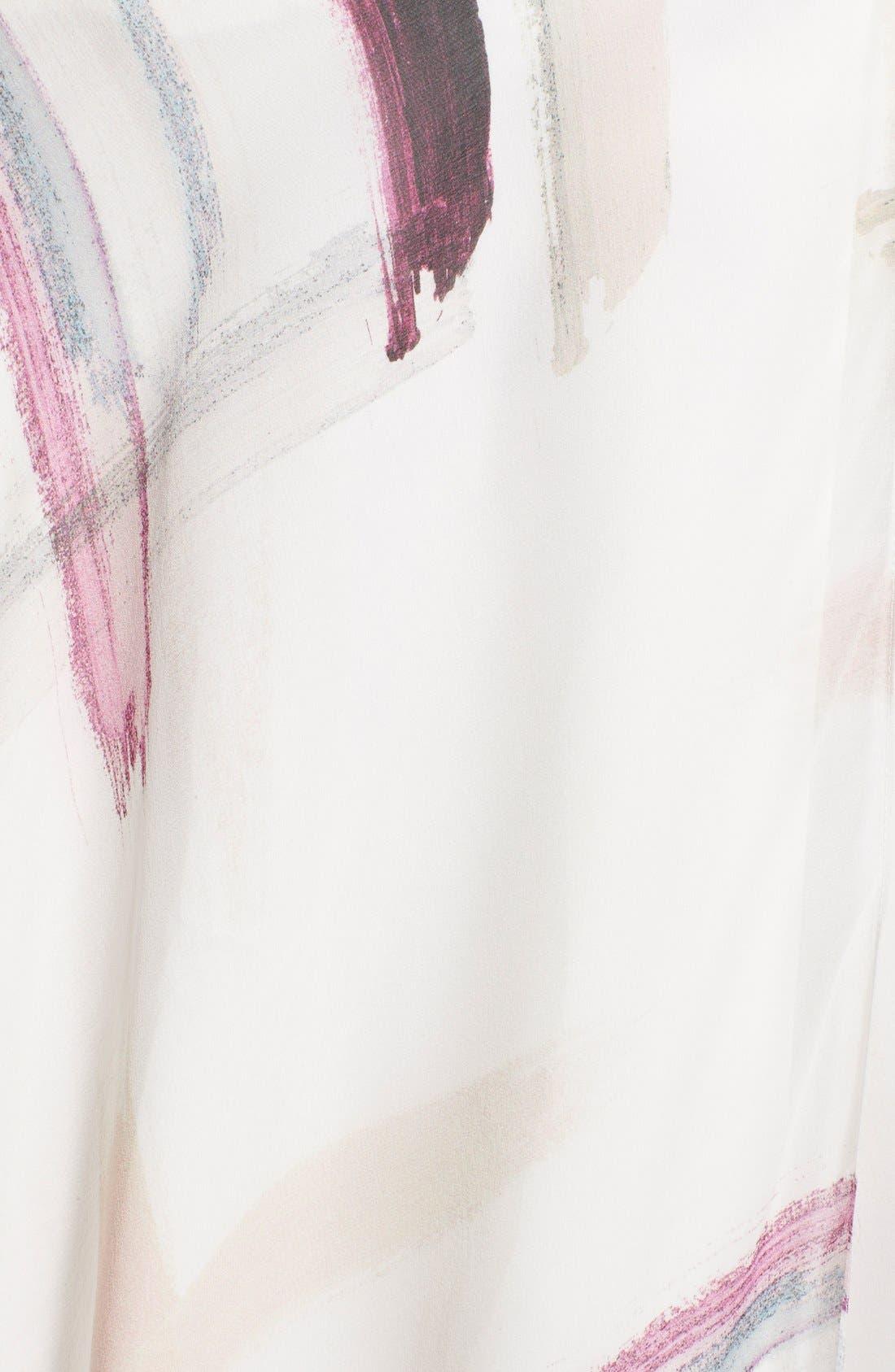 Alternate Image 3  - Haute Hippie Print Silk Maxi Skirt