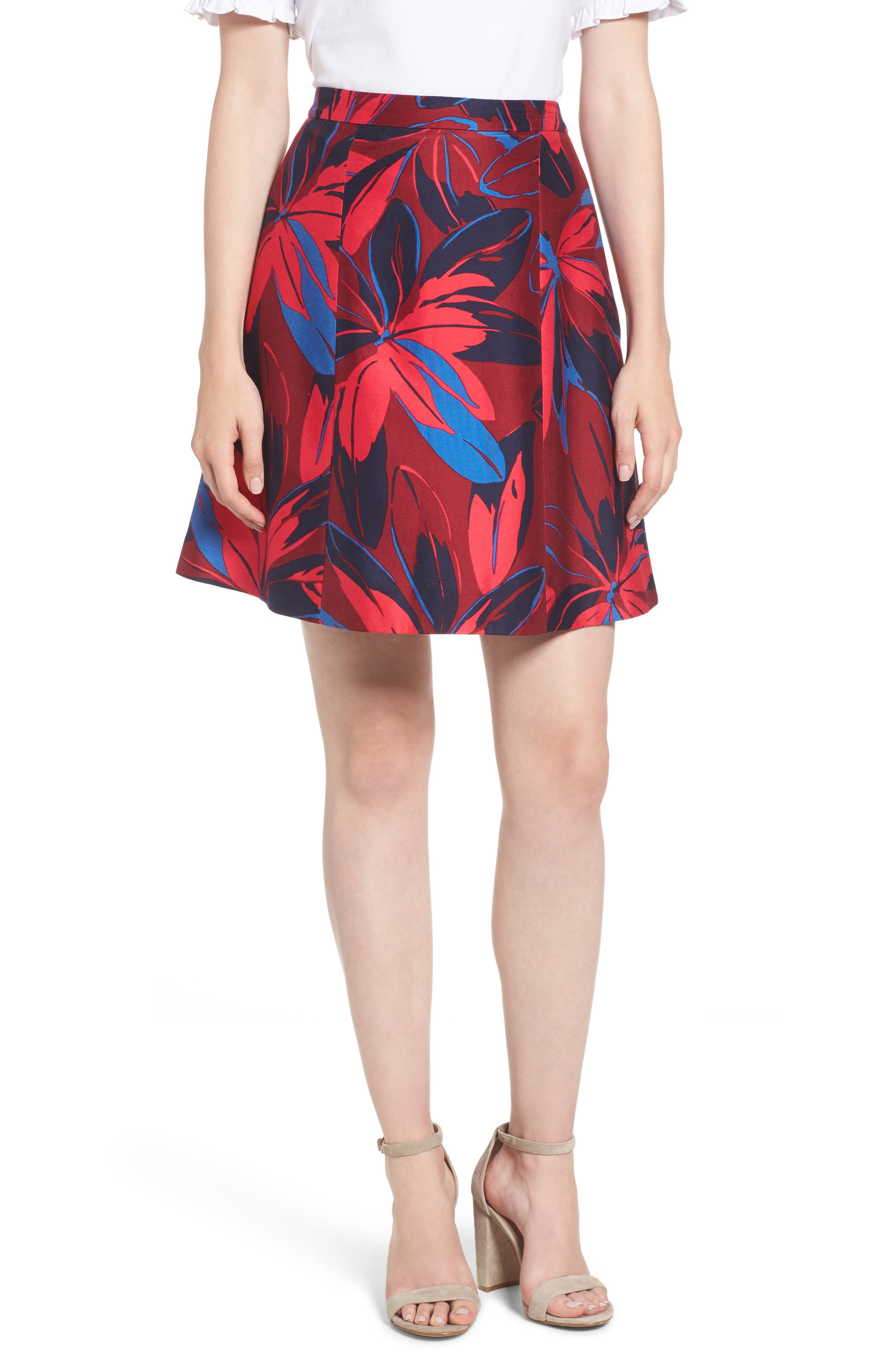 Draper James Autumn Bloom A-Line Skirt