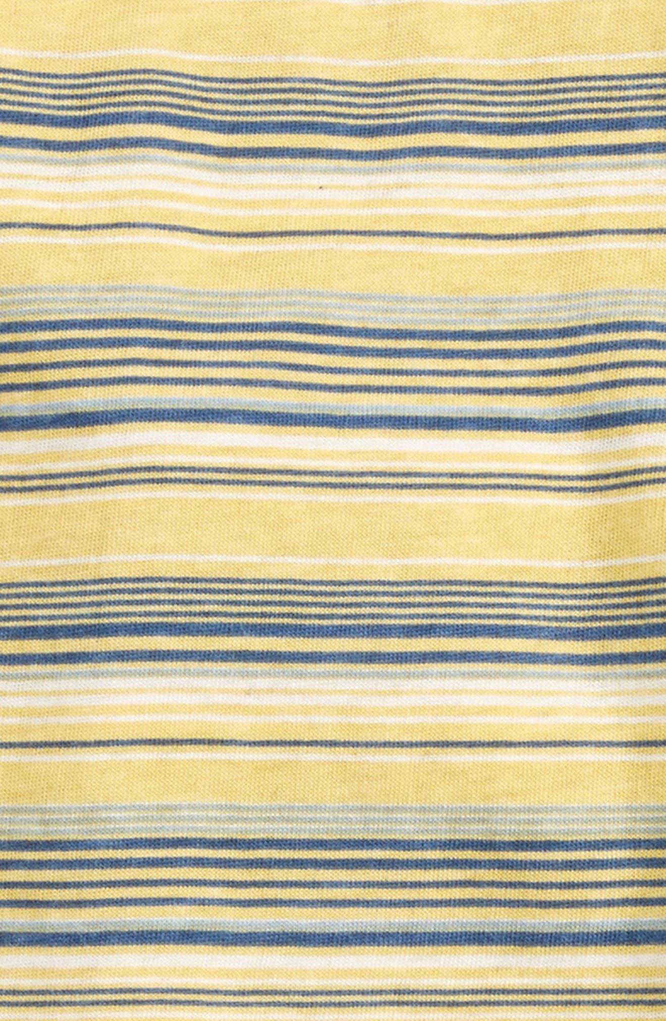 Alternate Image 2  - Splendid Stripe Henley & Pants Set (Baby Boys)