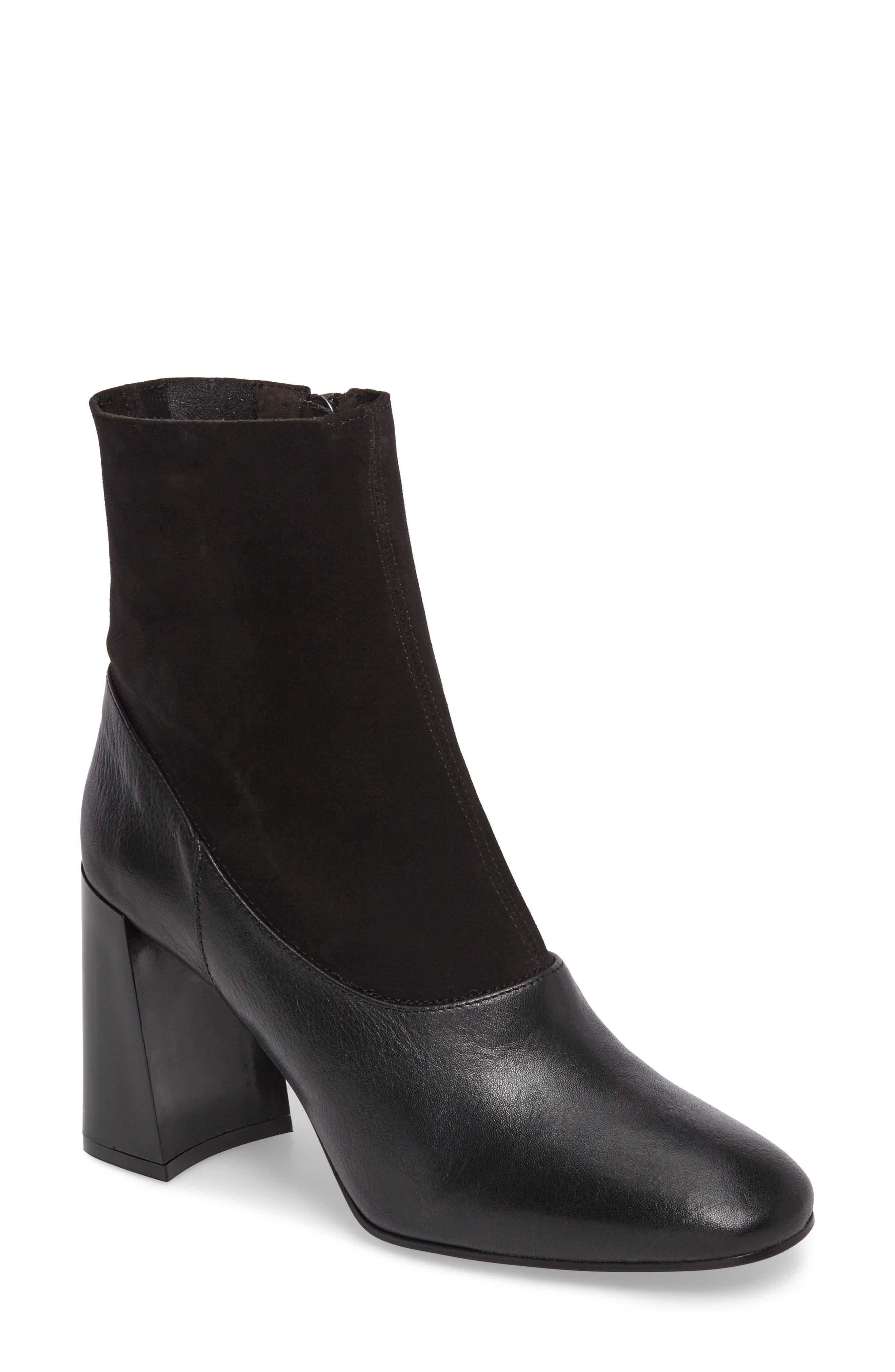 Holi Sock Bootie,                         Main,                         color, Black