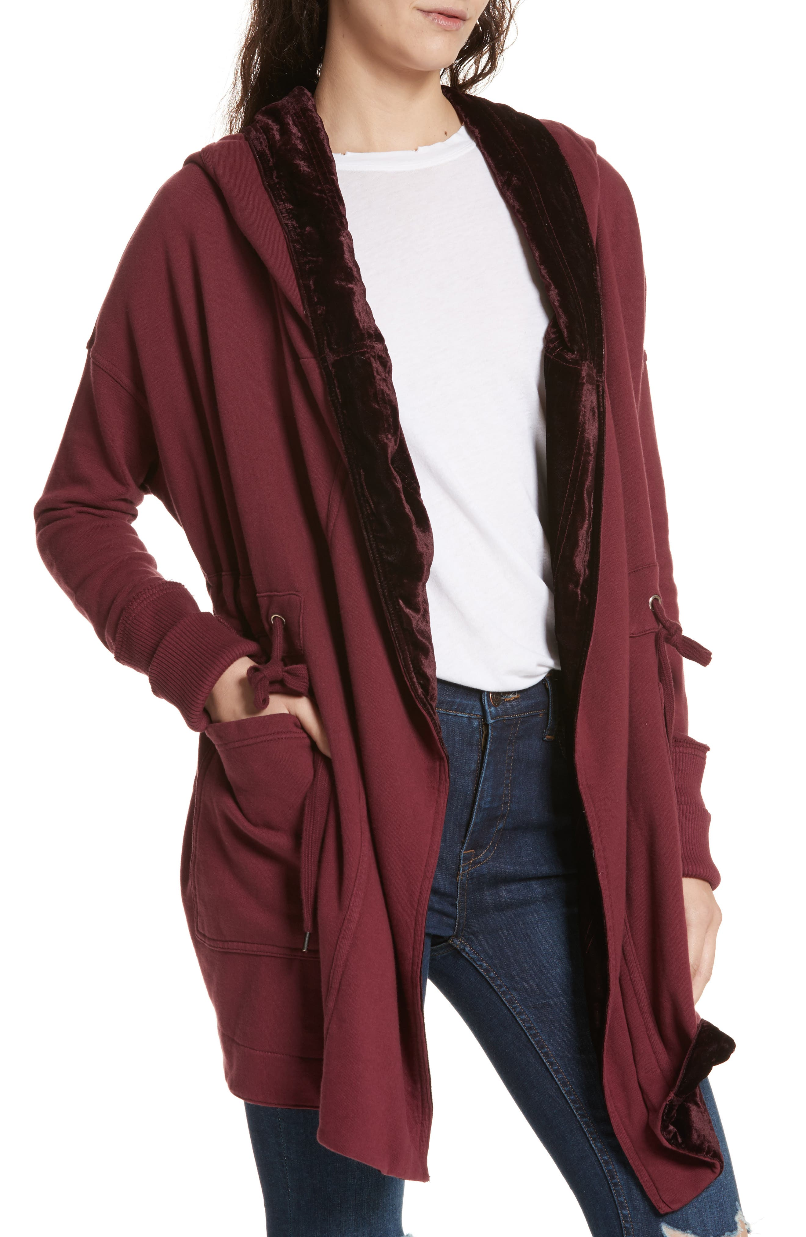 Westwood Cardigan,                             Alternate thumbnail 4, color,                             Wine
