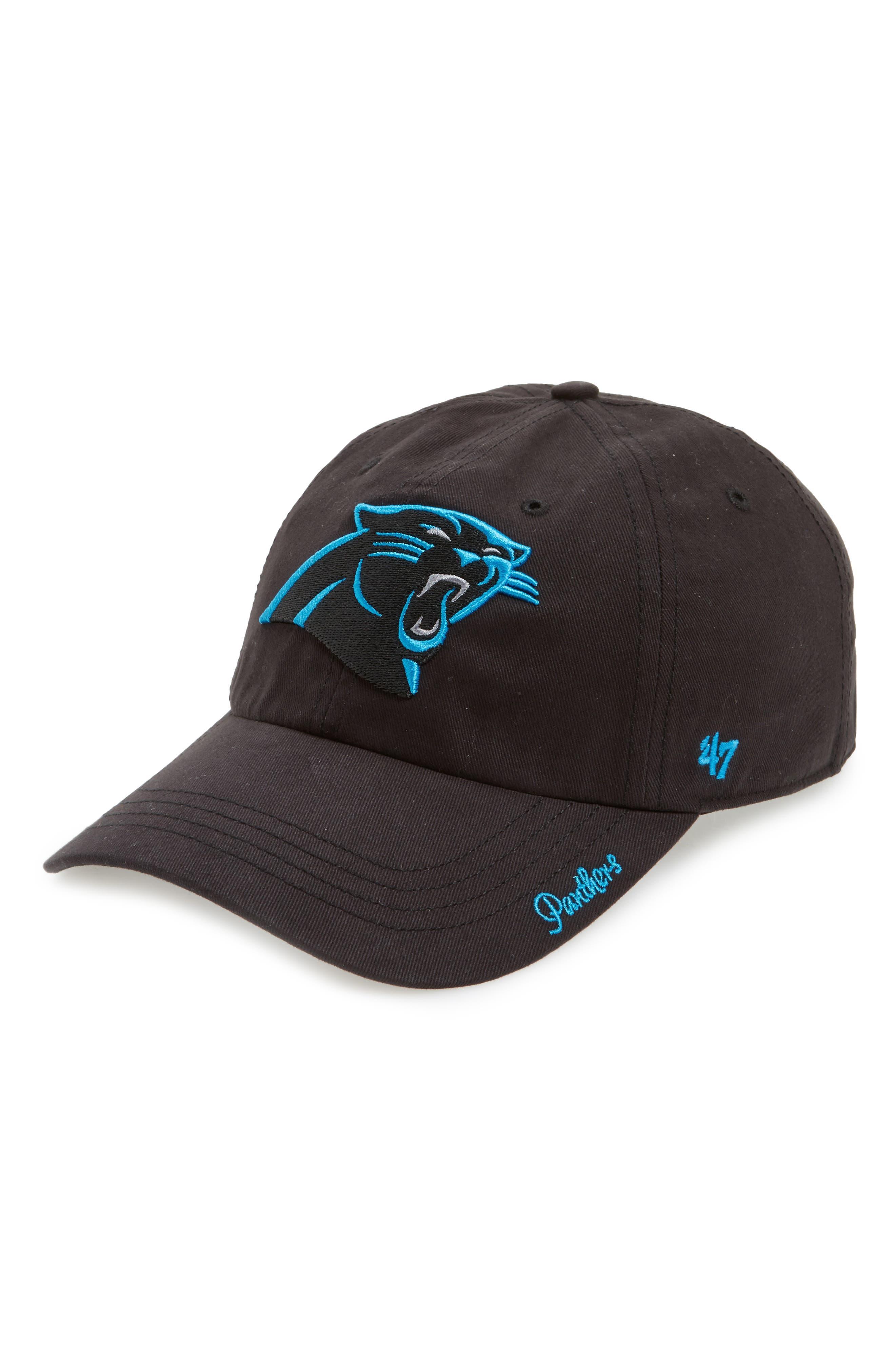 Carolina Panthers Cap,                         Main,                         color, Black
