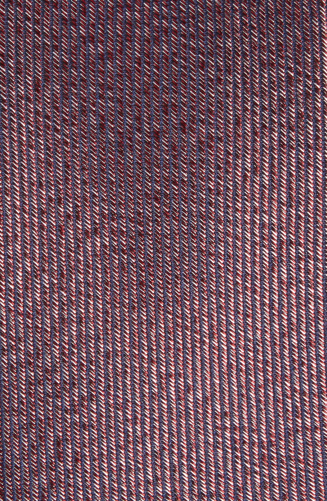 Alternate Image 2  - Calibrate Heathered Solid Silk Tie