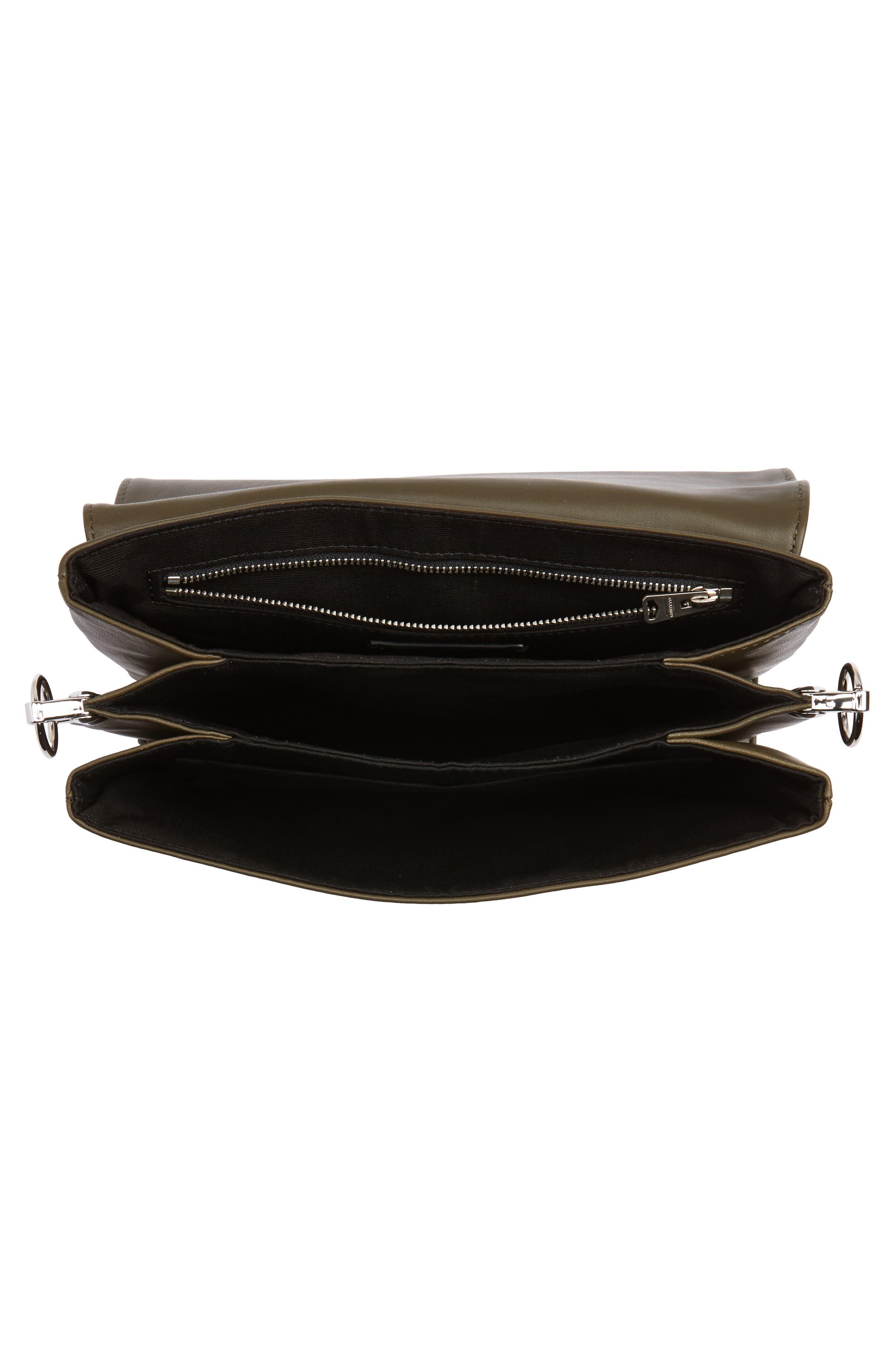 Alternate Image 5  - ALLSAINTS Zep Lambskin Leather Box Bag
