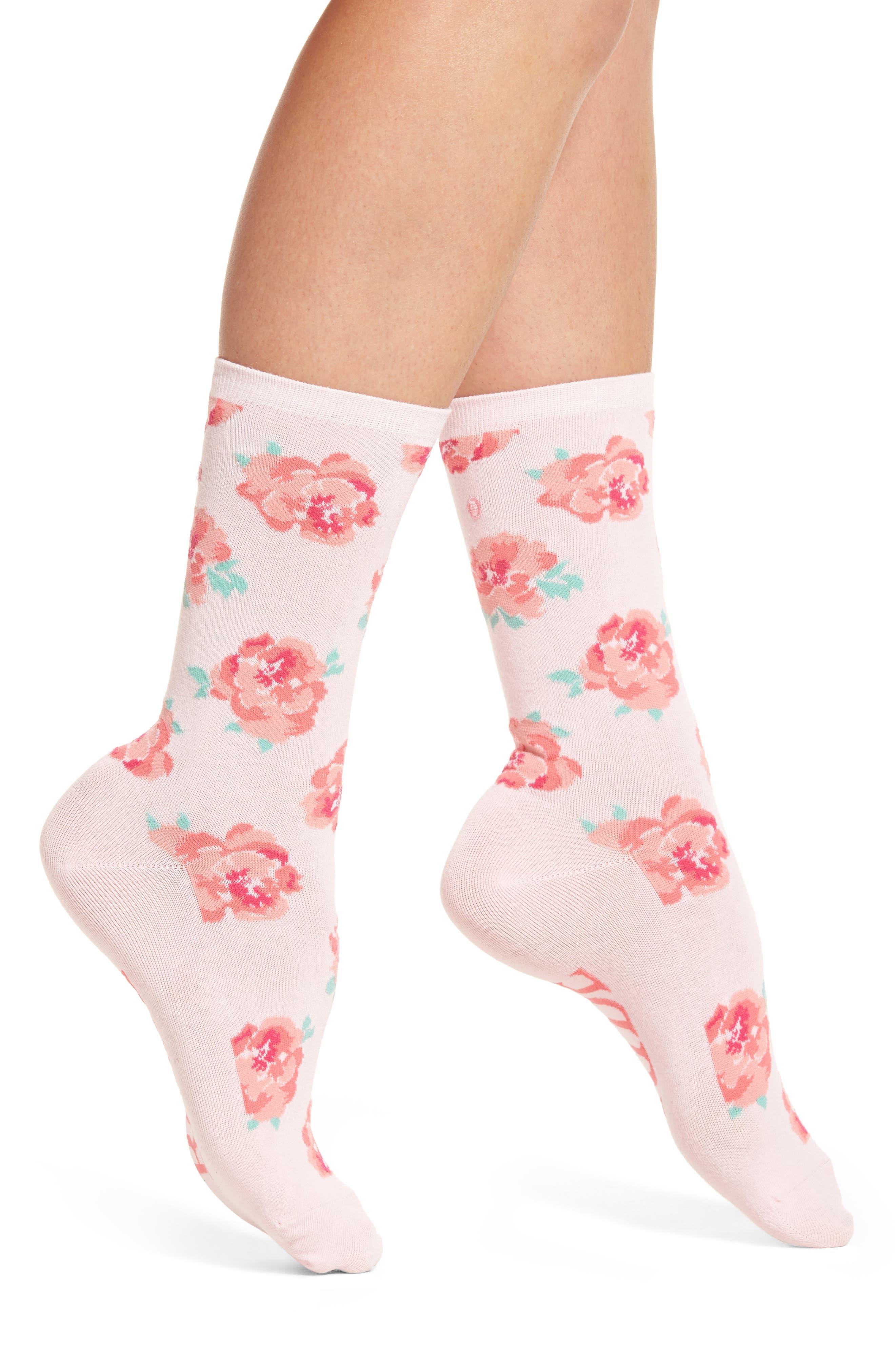 Bride Crew Socks,                             Alternate thumbnail 2, color,                             Light Pink