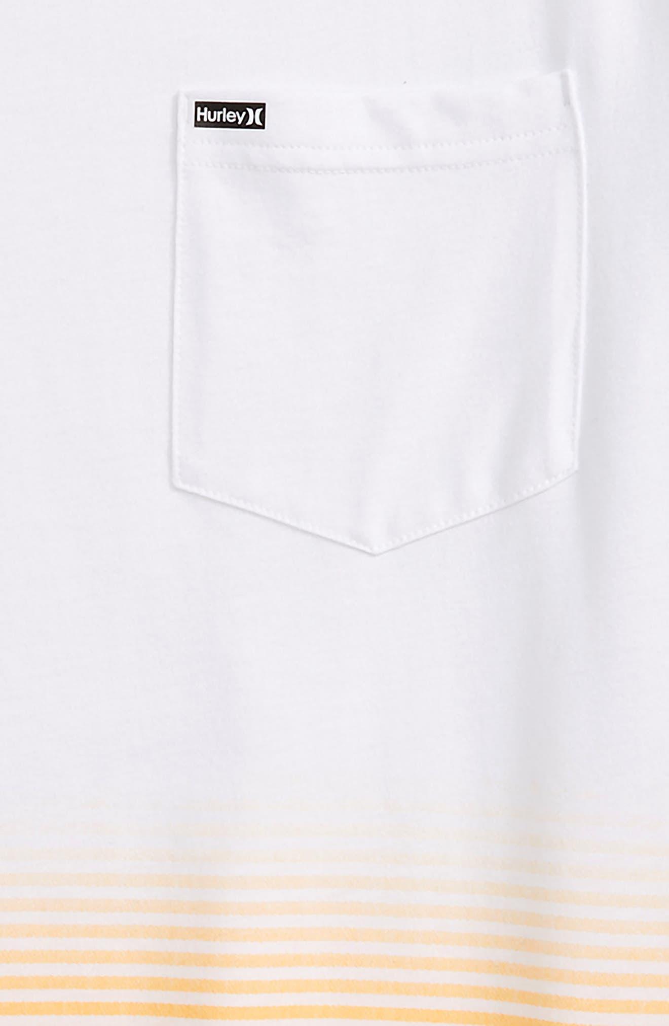 Alternate Image 2  - Hurley Ombré Stripe T-Shirt (Big Boys)