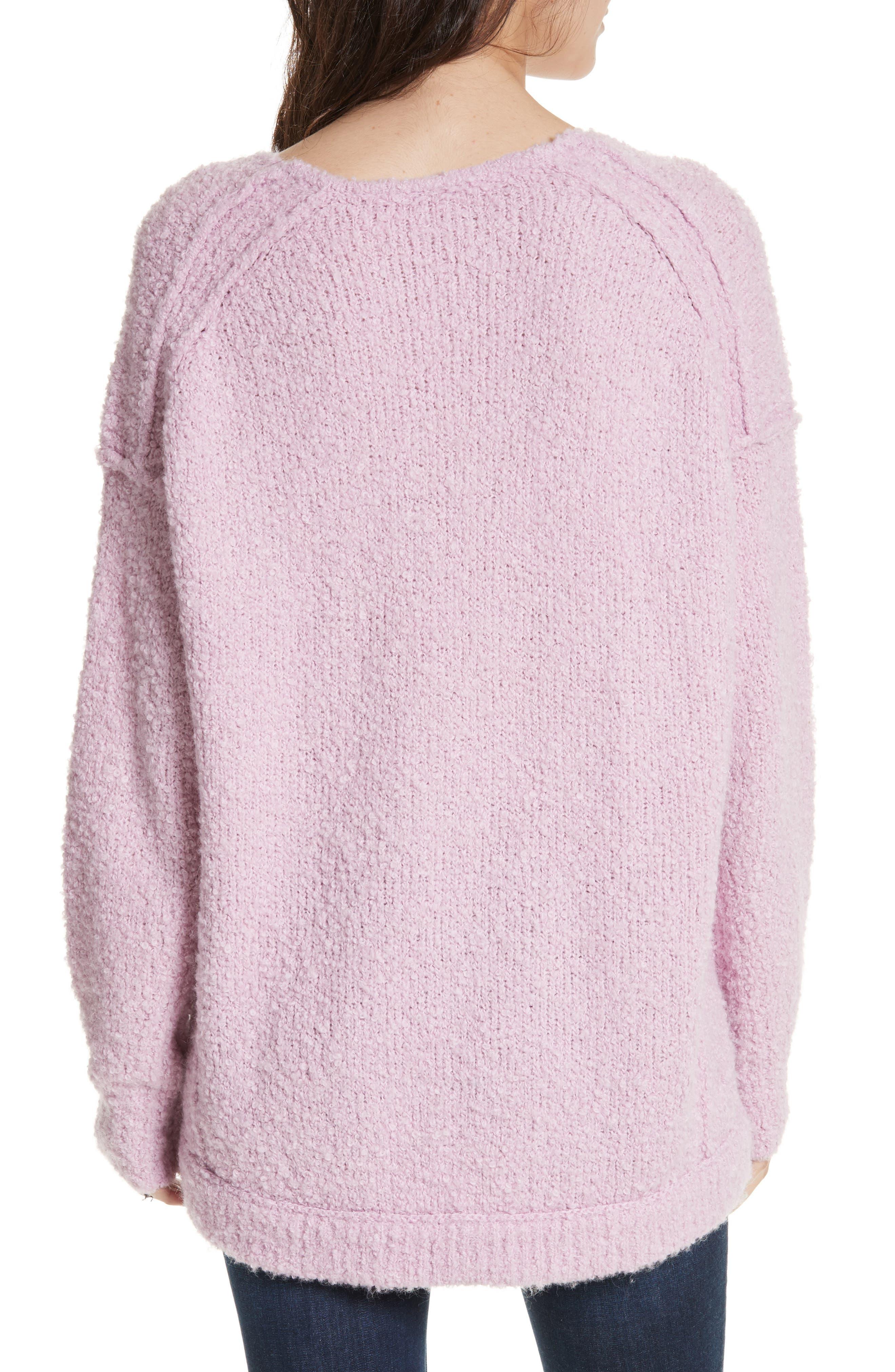 Alternate Image 2  - Free People Lofty V-Neck Sweater
