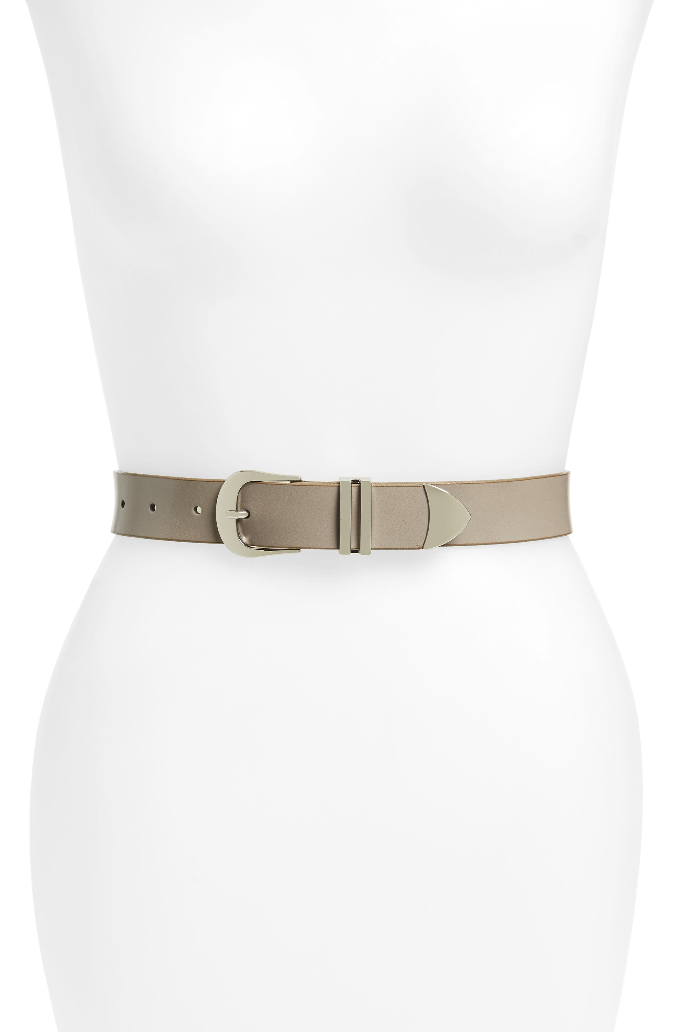 Halogen® Leather Belt