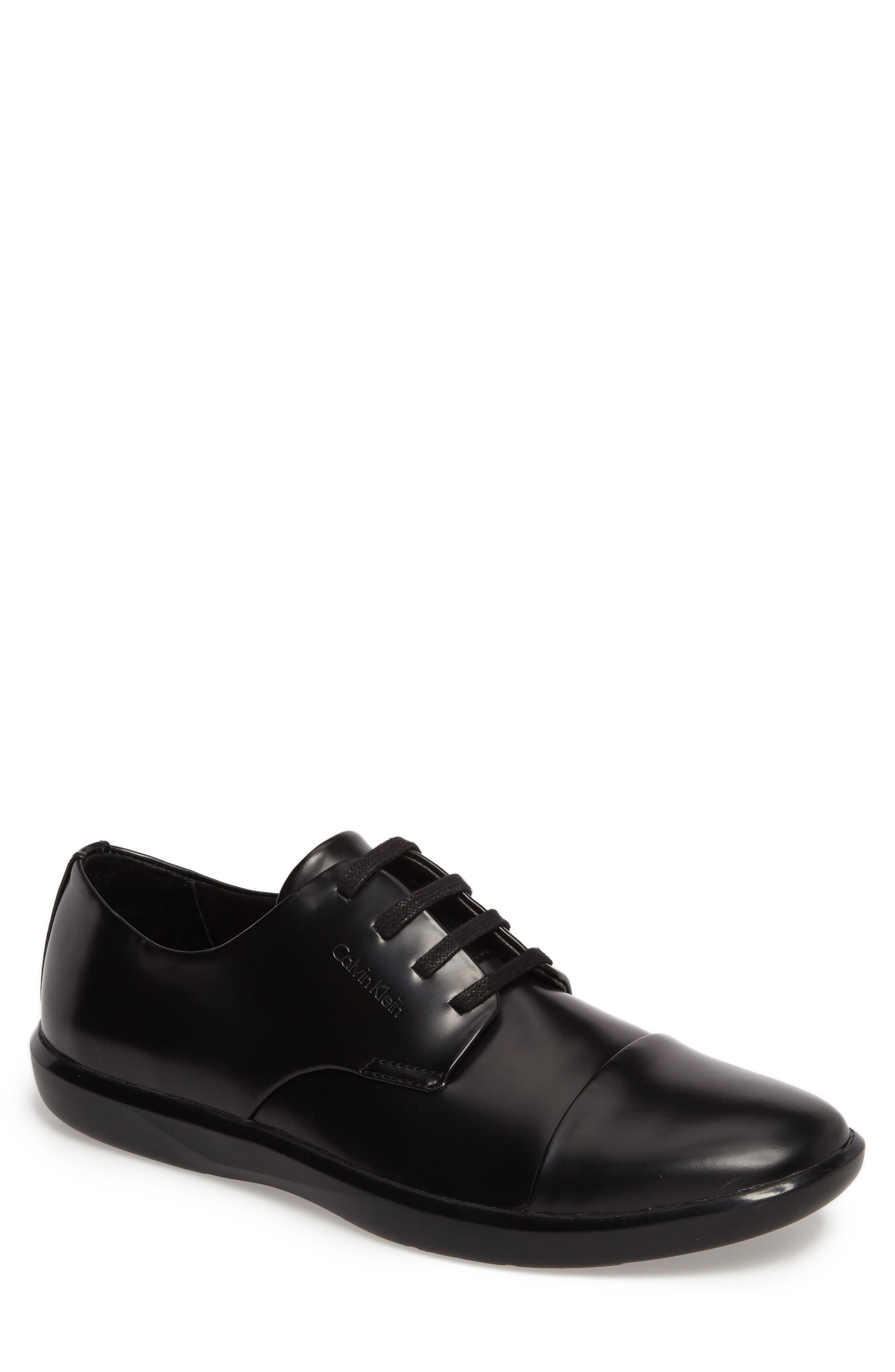 Alternate Image 1 Selected - Calvin Klein Magnar Cap Toe Derby (Men)