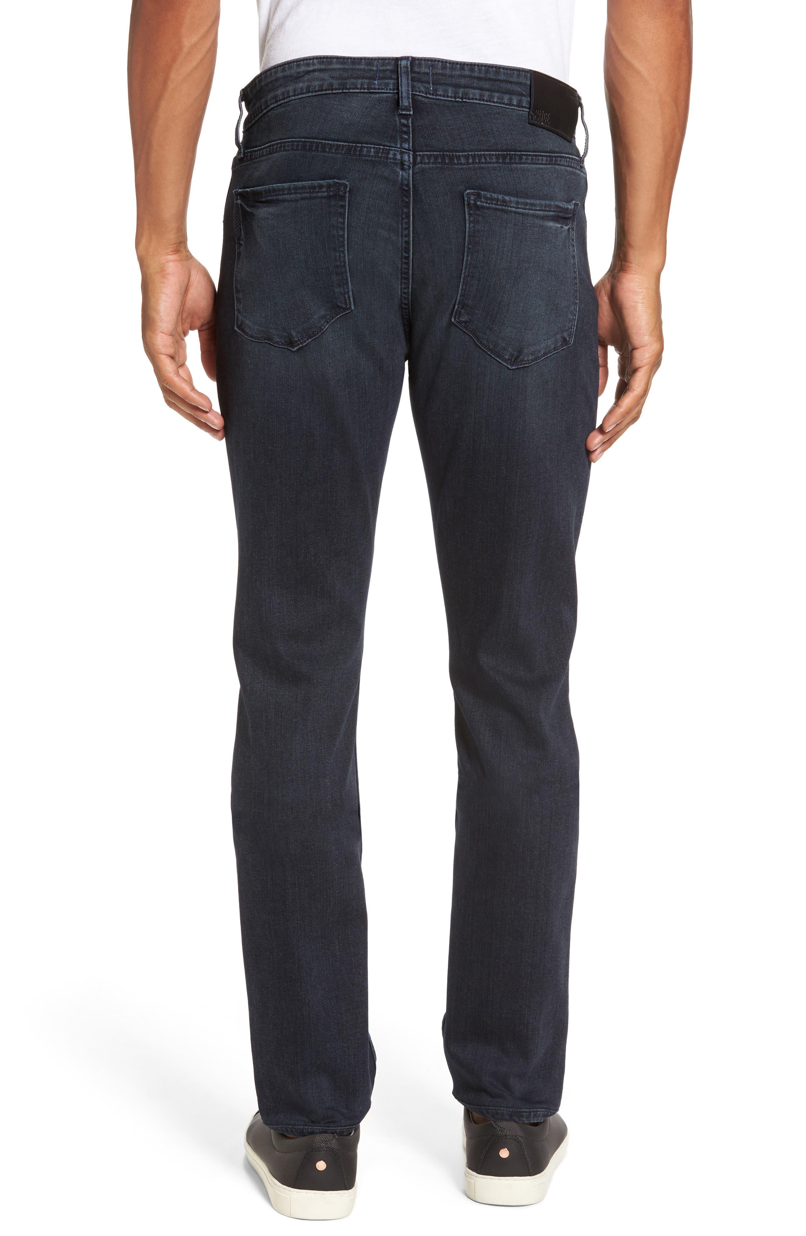 Straight Leg Jeans,                             Alternate thumbnail 2, color,                             Dark Grey