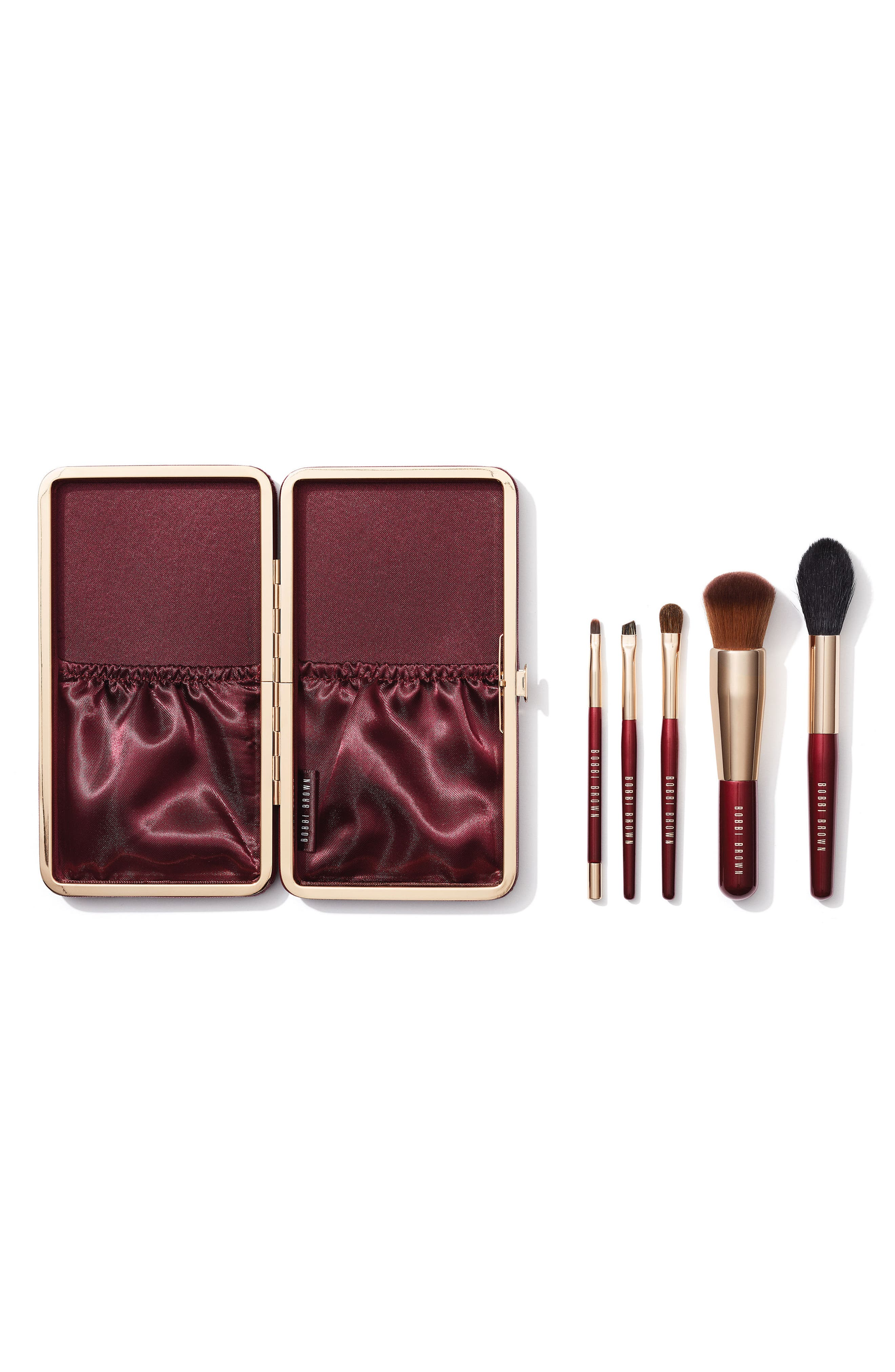 bobbi brown brushes uses. bobbi brown travel brush set ($228 value) brushes uses 2