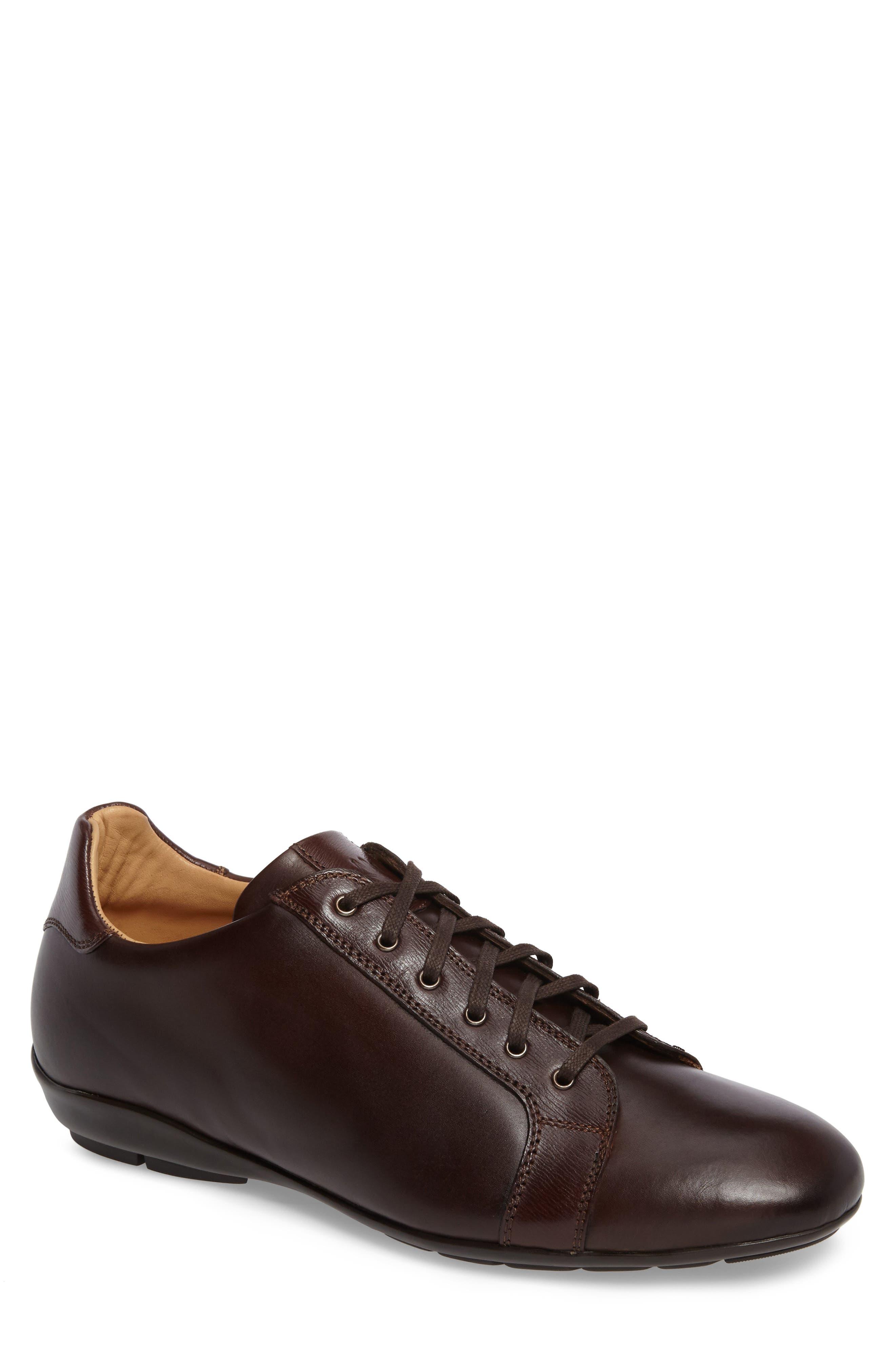Ubrique Sneaker,                             Main thumbnail 1, color,                             Brown Multi Leather