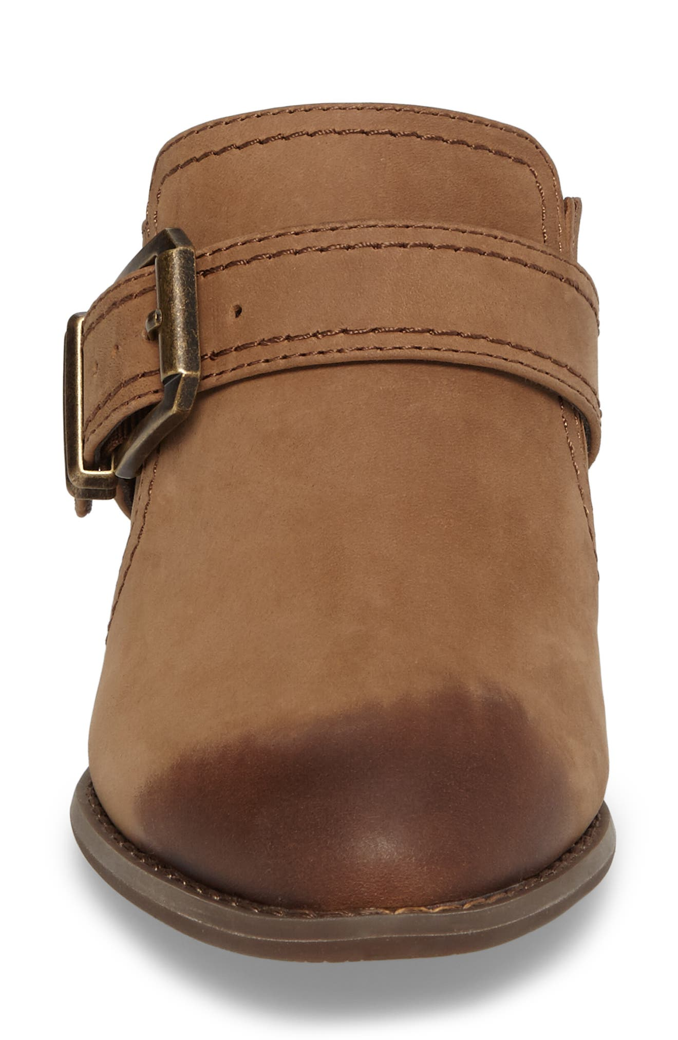 Cheyenne Mule,                             Alternate thumbnail 4, color,                             Brown Leather