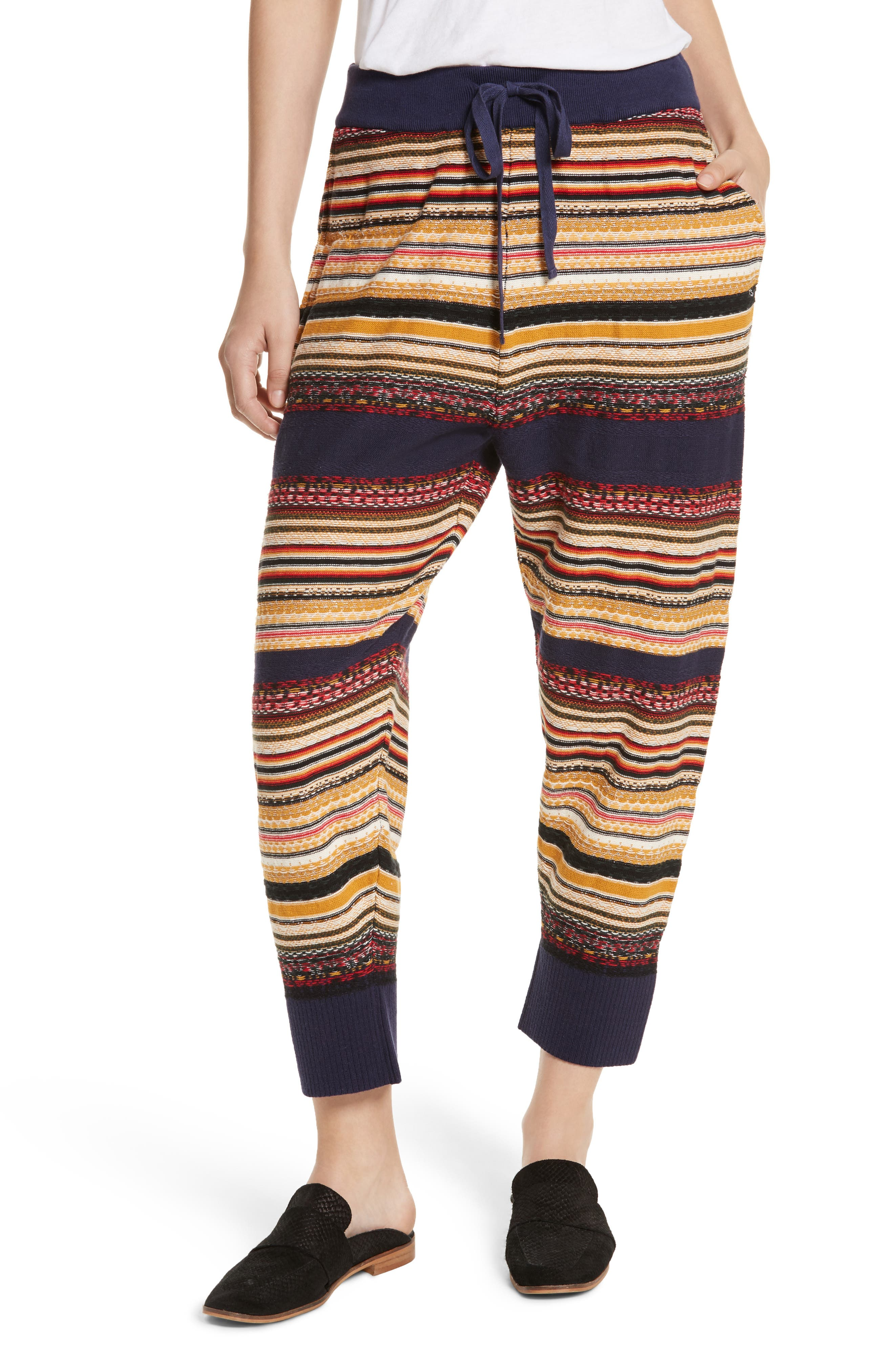 Free People All Mixed Up Jogger Pants