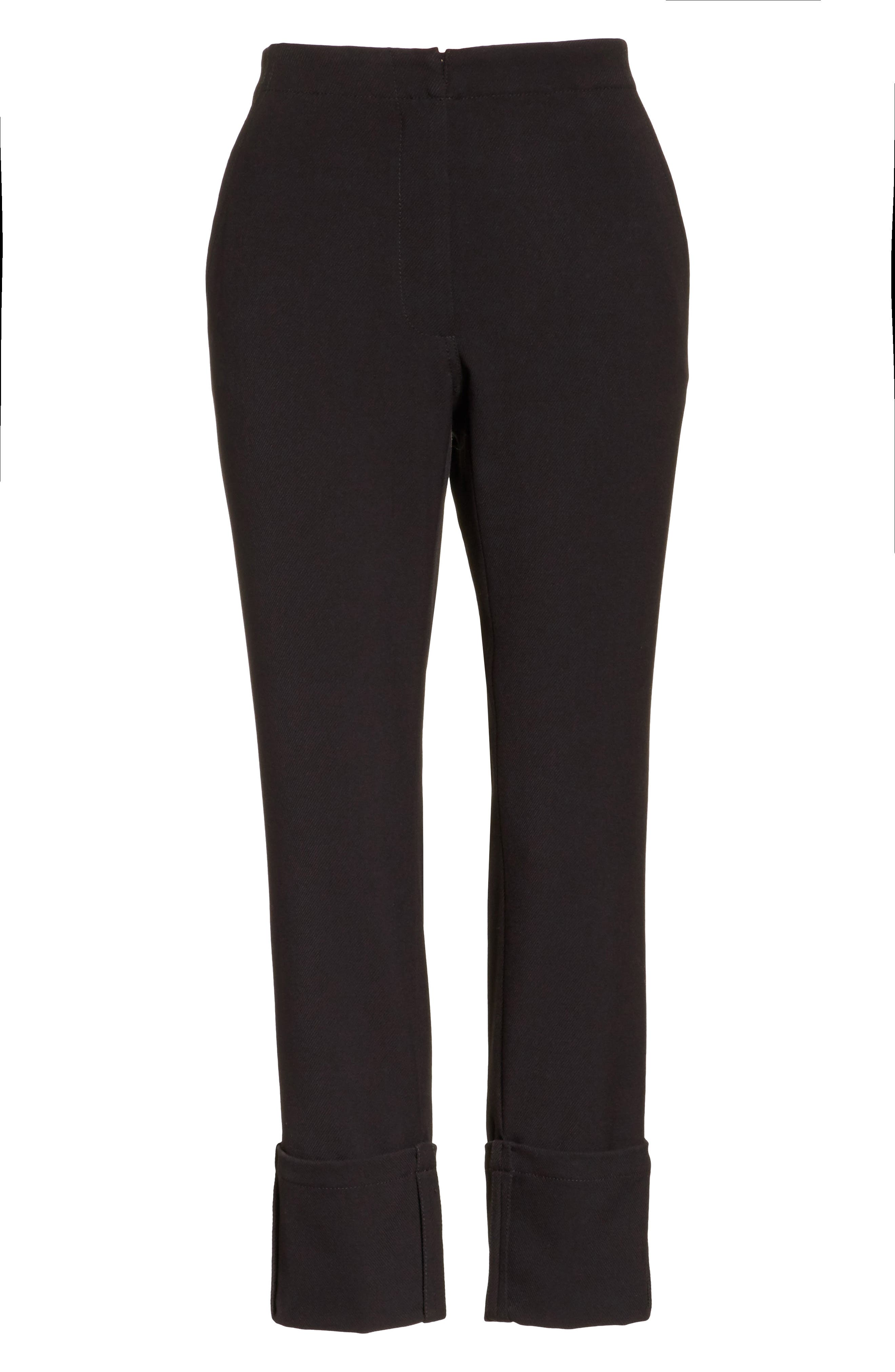 Alternate Image 6  - Tracy Reese Crop Straight Leg Pants