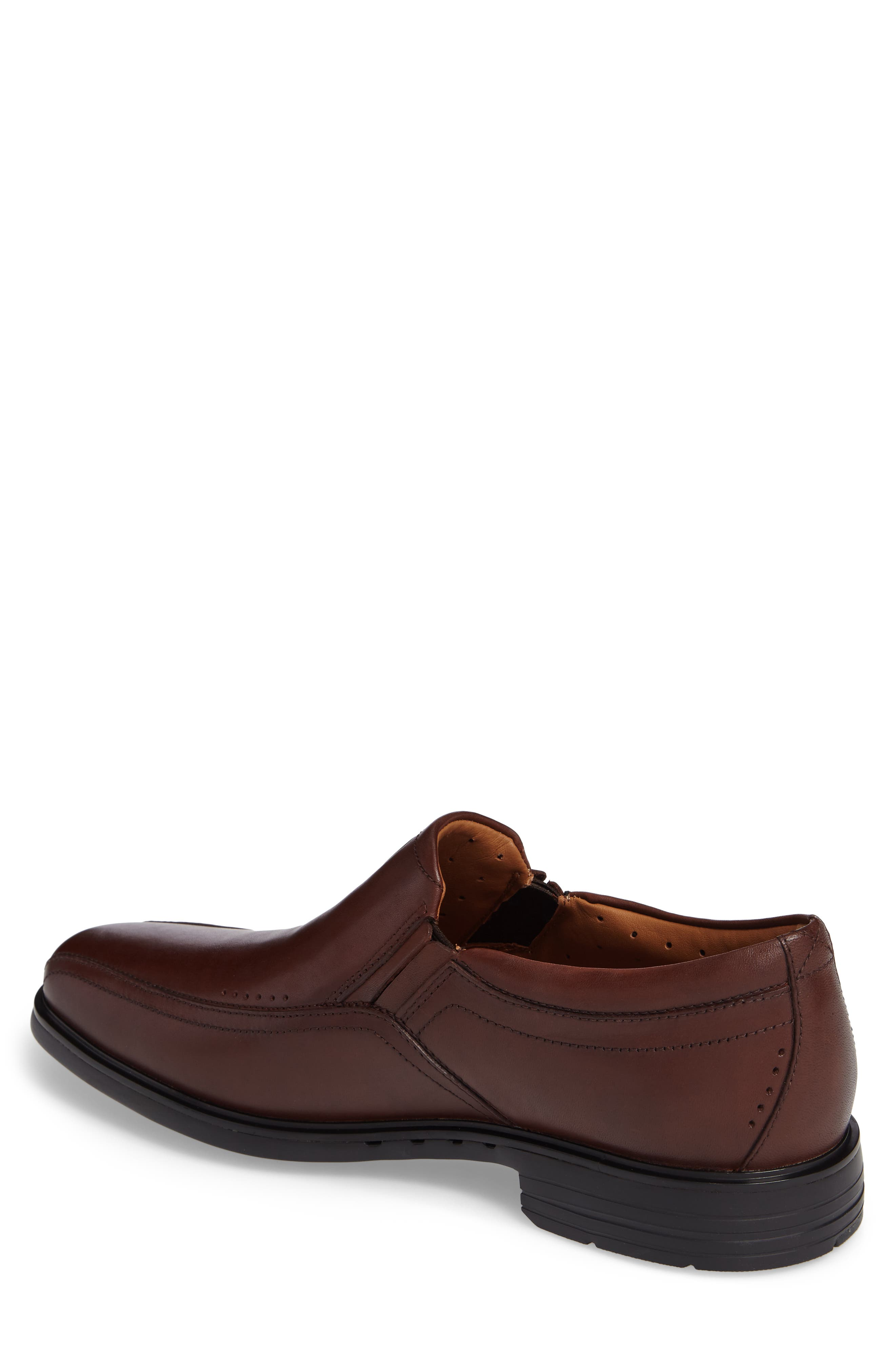 Un.Sheridan Go Loafer,                             Alternate thumbnail 2, color,                             Brown Leather