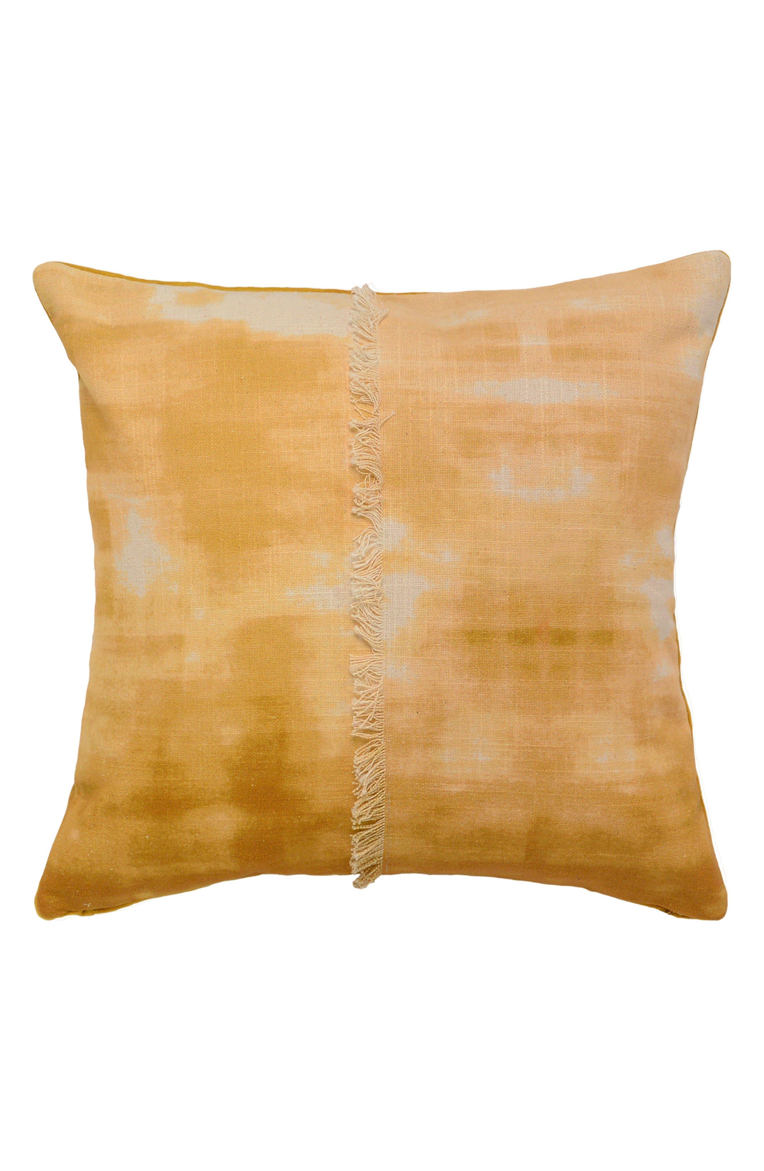 Kino Accent Pillow,                         Main,                         color, Ochre
