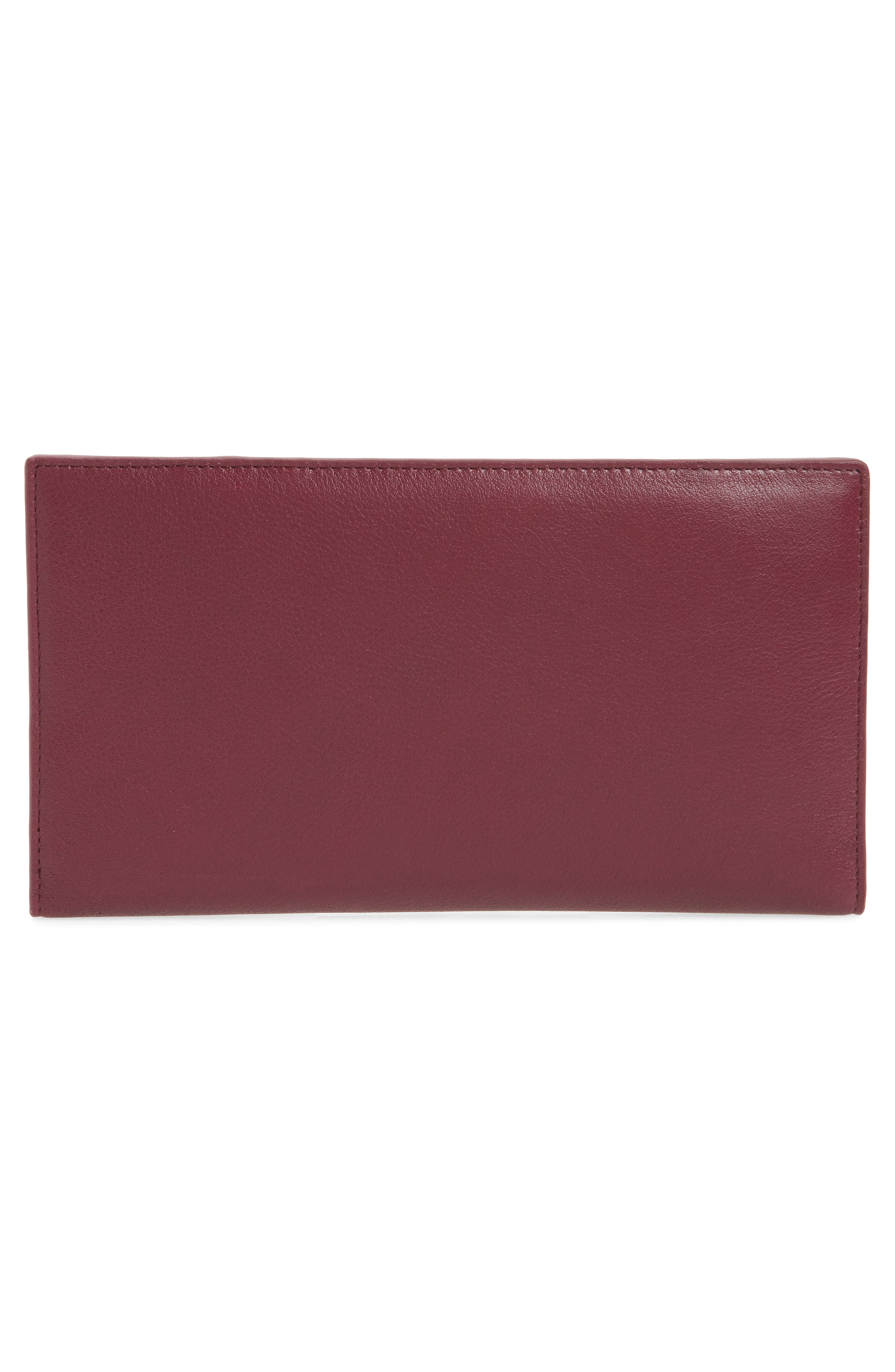 Alternate Image 2  - Ted Baker London Dolle Leather Travel Wallet
