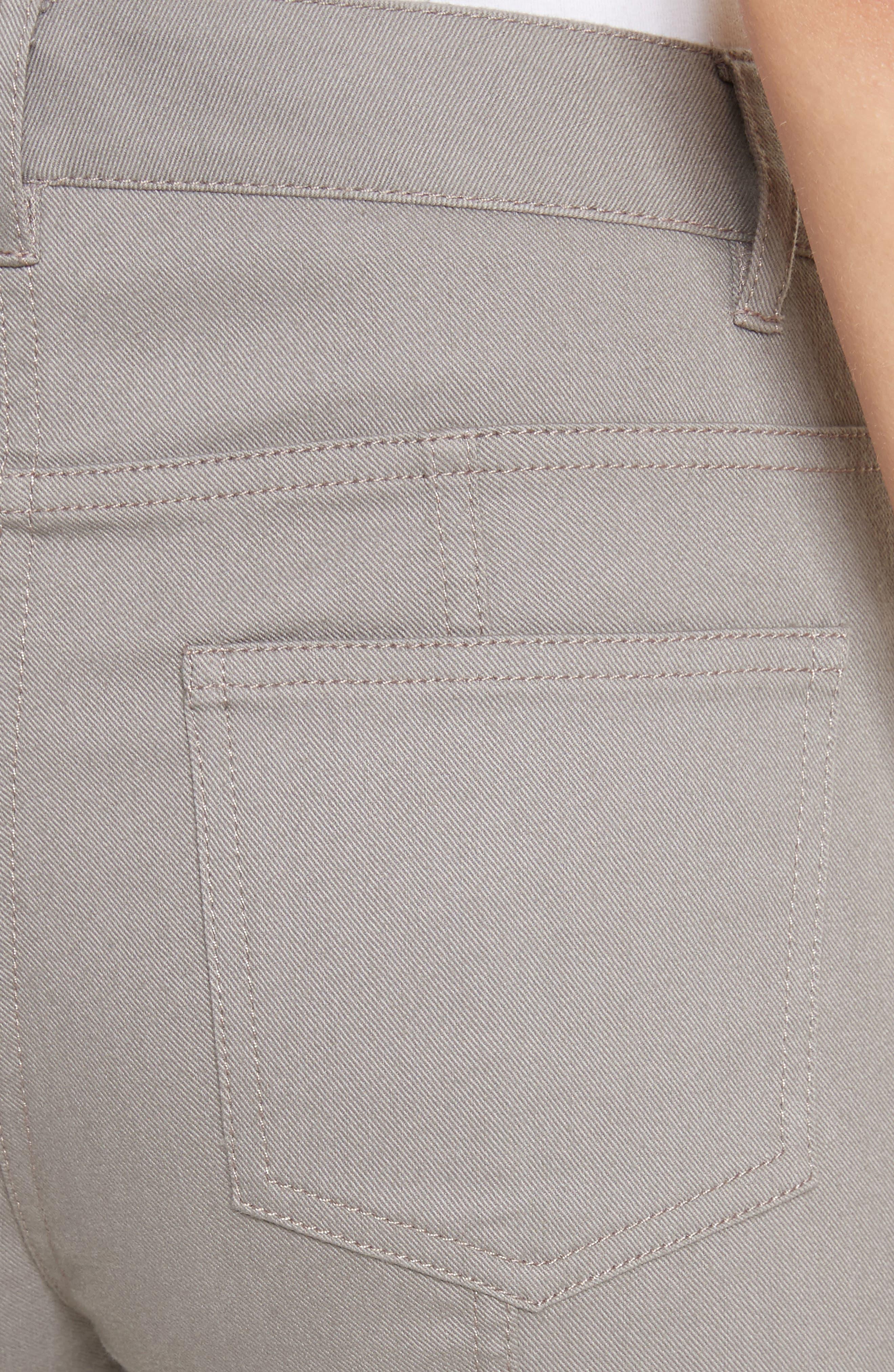 Bardot Double Dye Stretch Jeans,                             Alternate thumbnail 5, color,                             Travertine