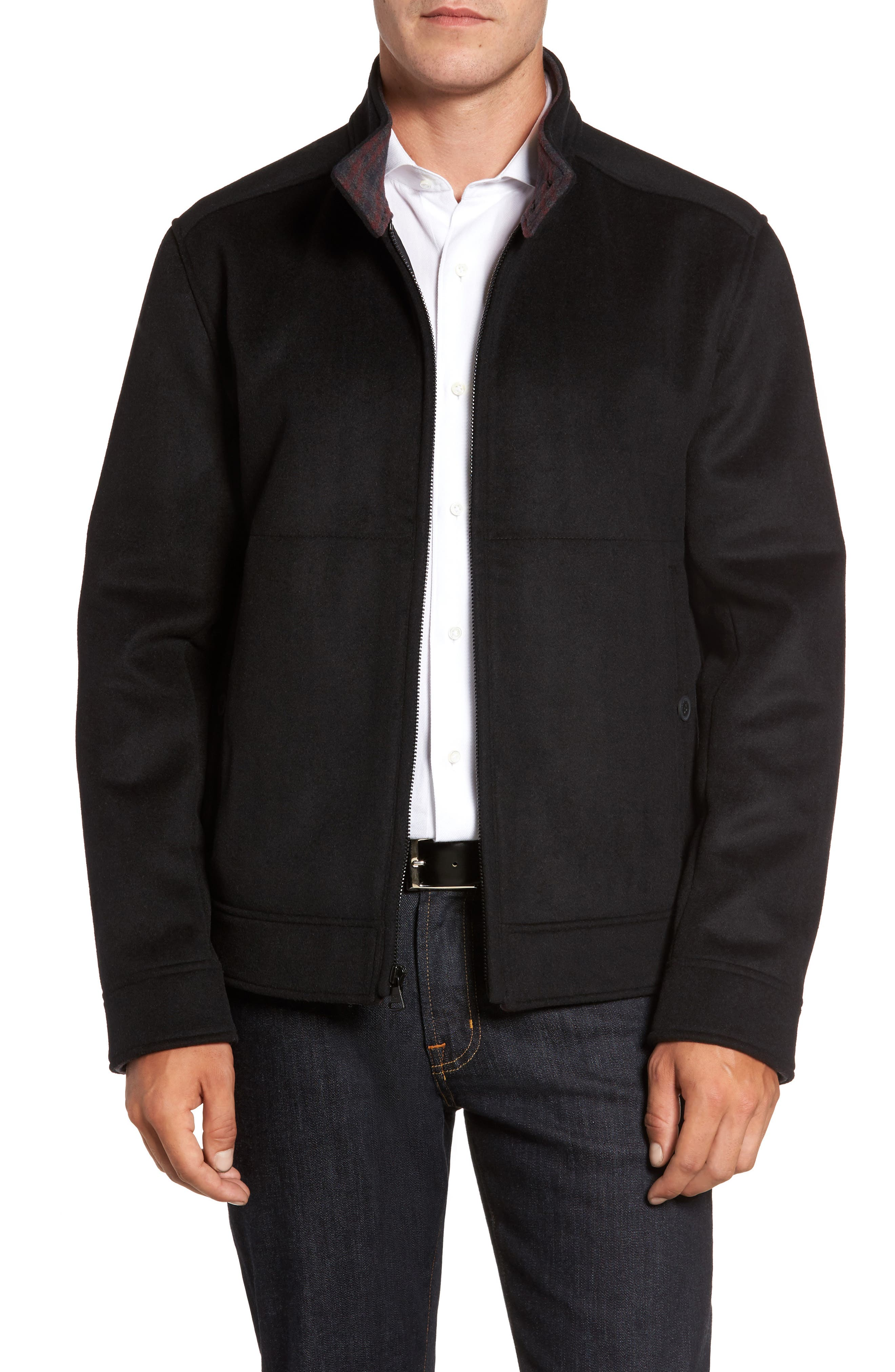 Marc New York Double Faced Bomber Jacket