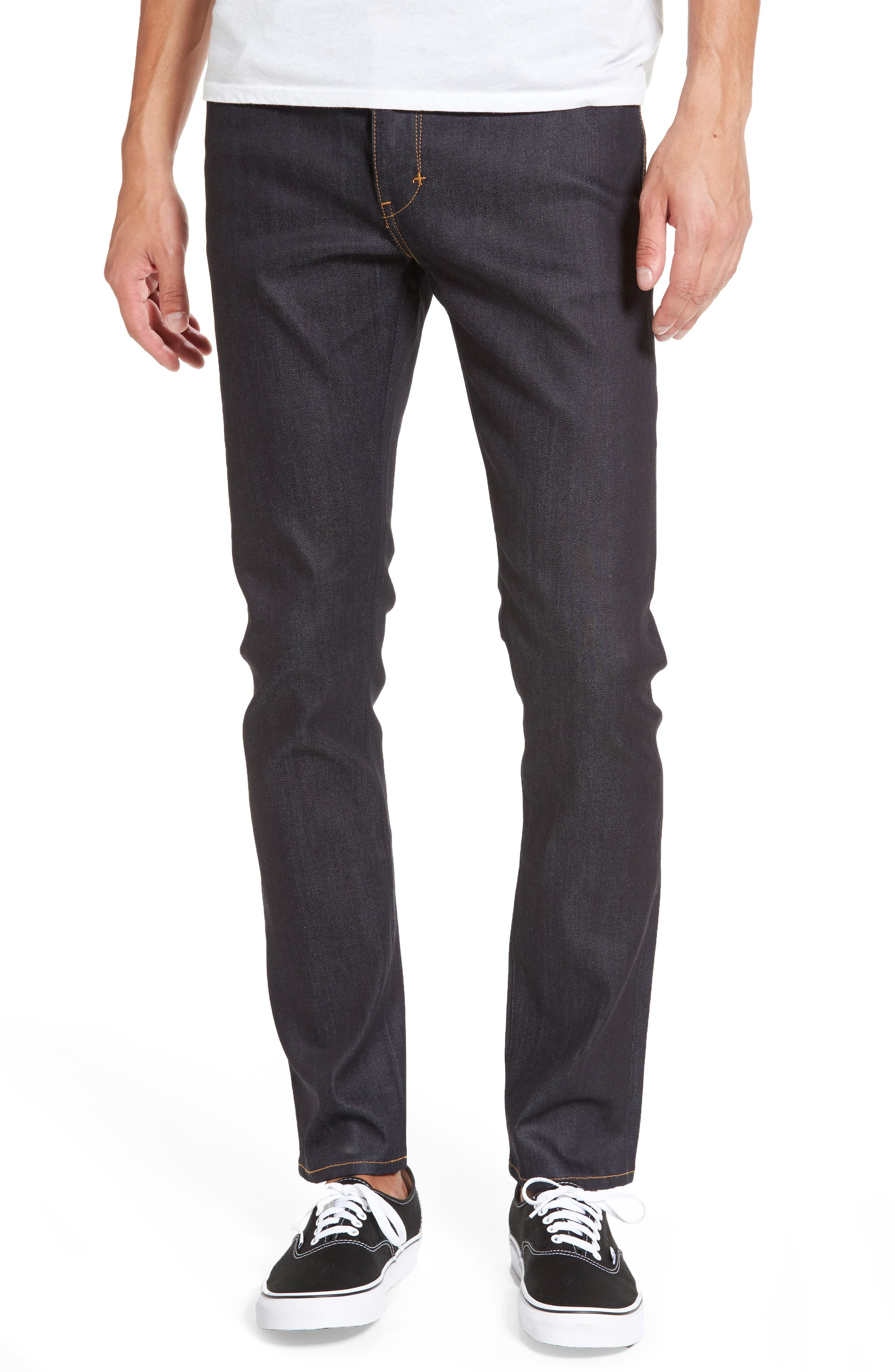 Iggy Skinny Jeans,                         Main,                         color, Raw Stretch