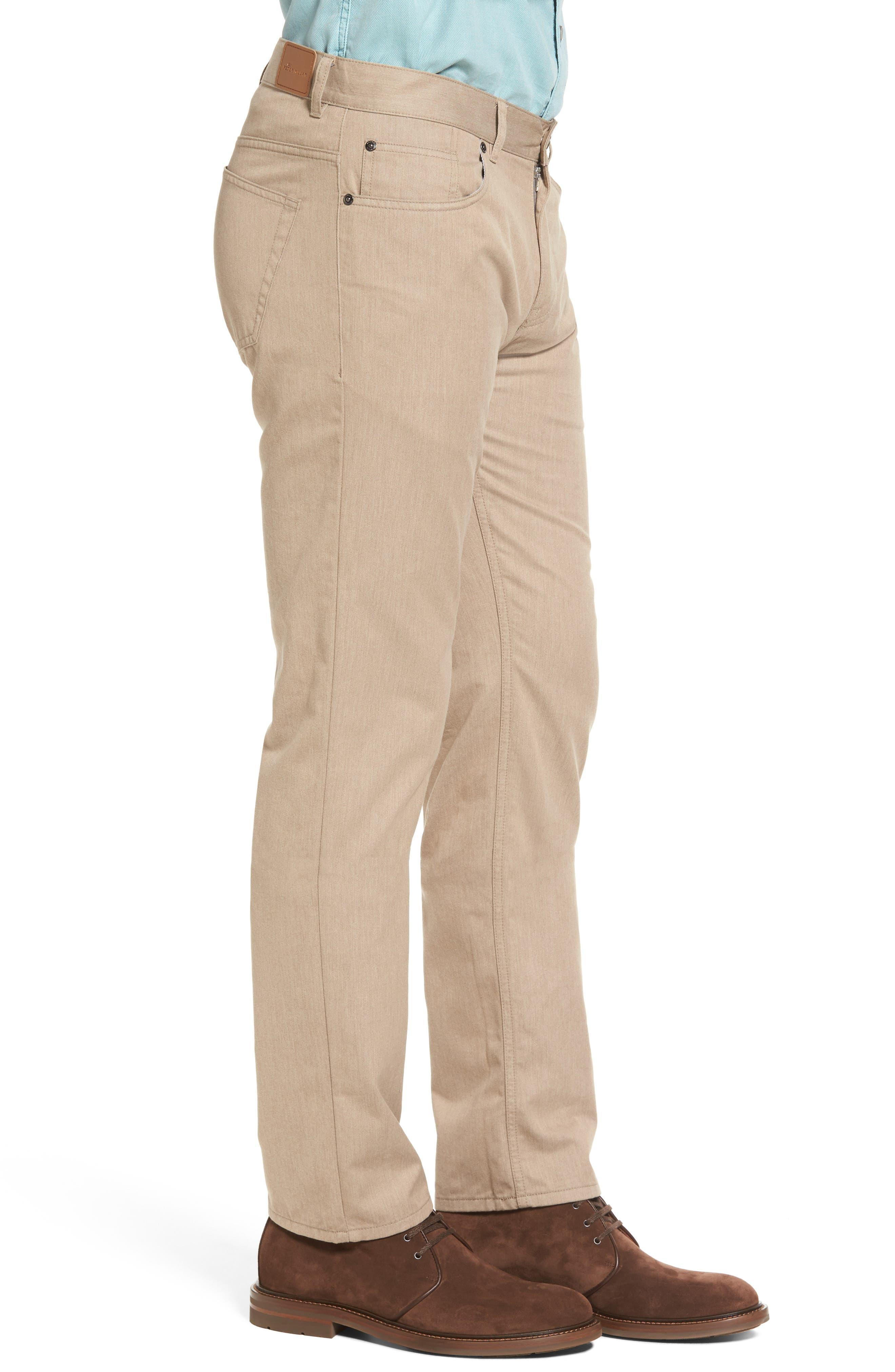 Alternate Image 3  - Peter Millar Mélange Five-Pocket Pants