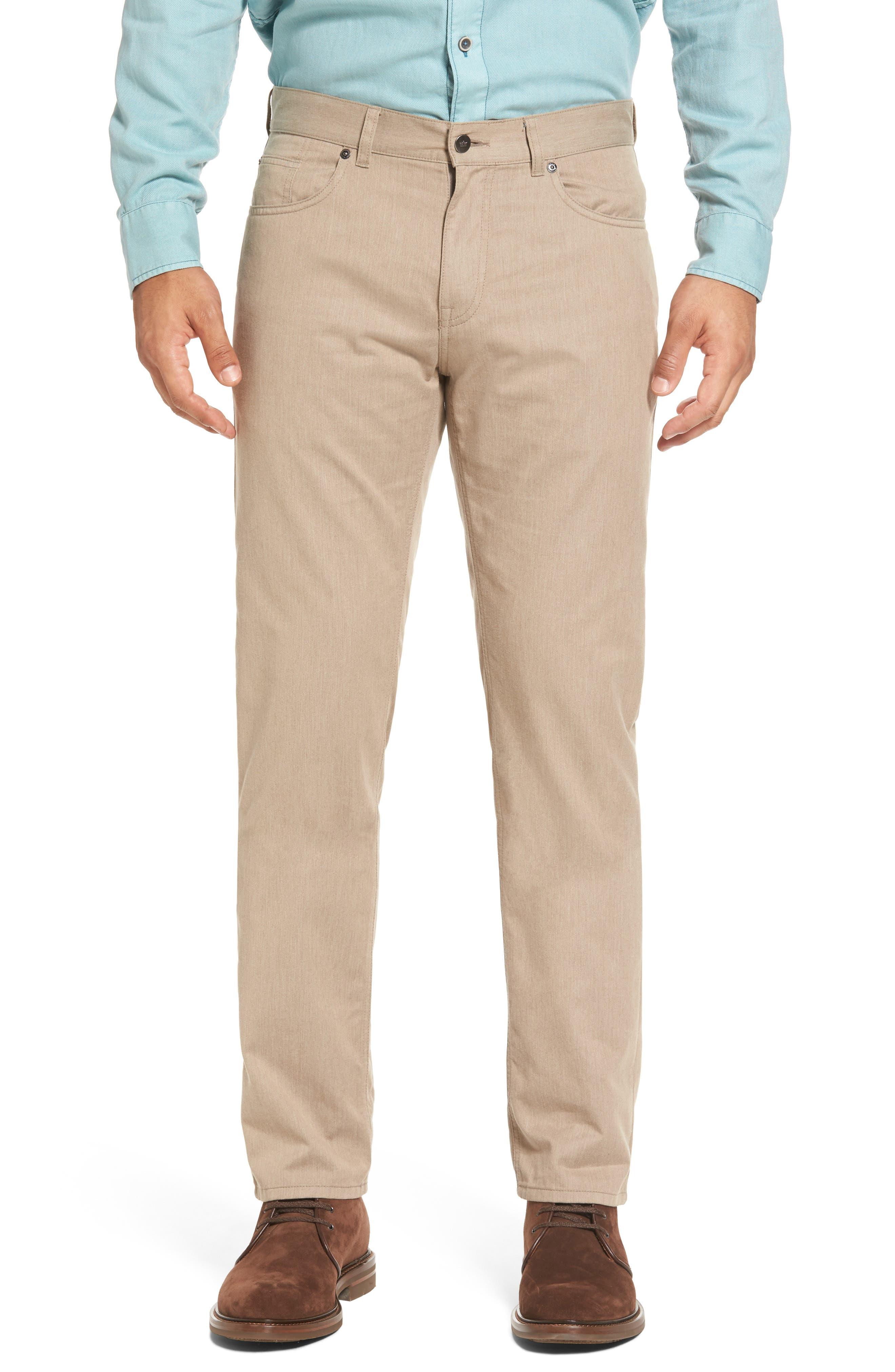 Peter Millar Mélange Five-Pocket Pants (Regular & Big)