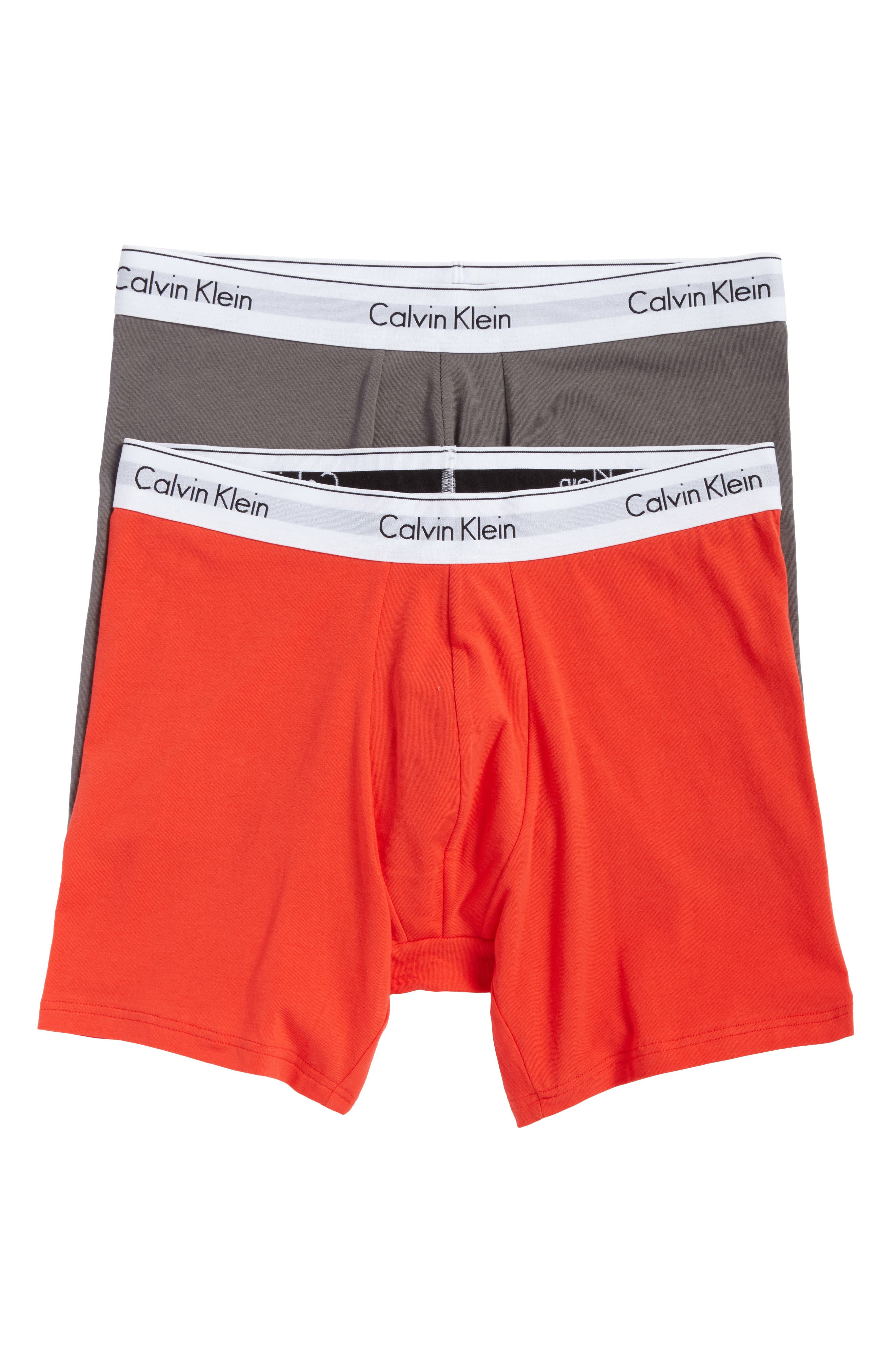 Calvin Klein Modern Assorted 2-Pack Stretch Cotton Boxer Briefs