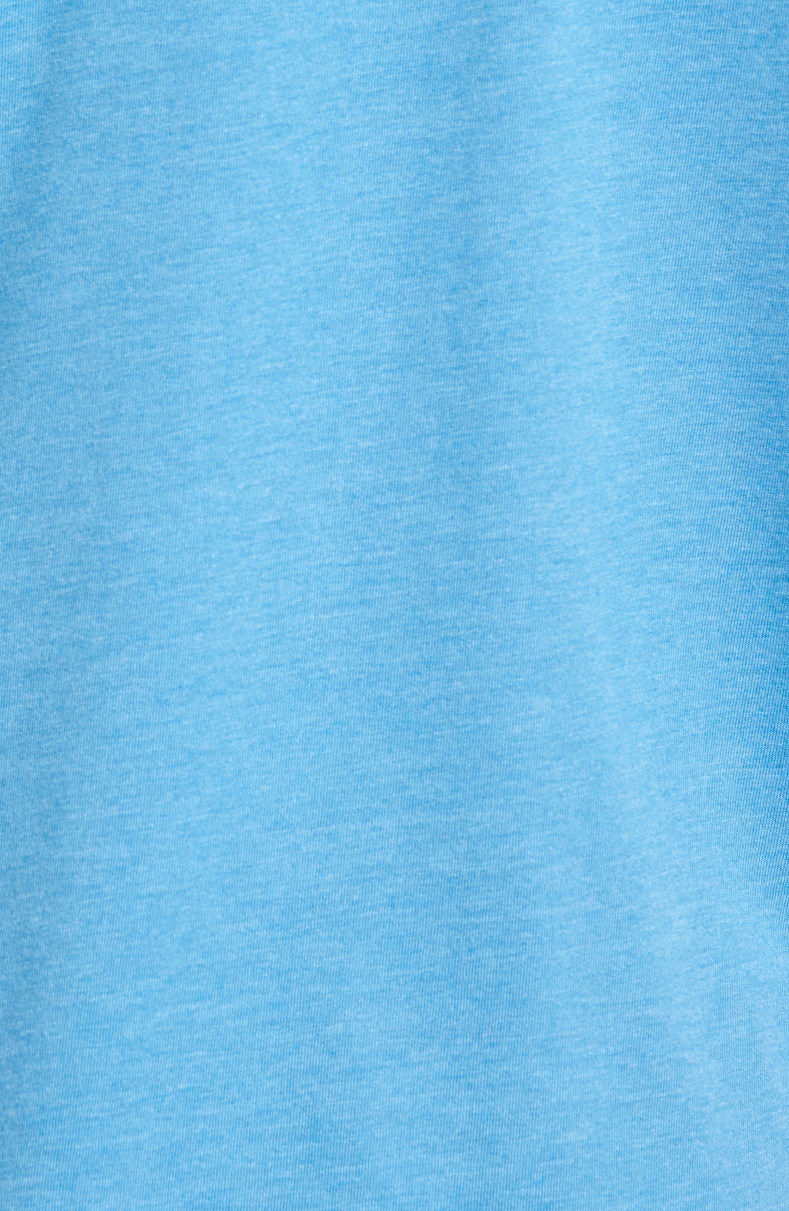 Life Champion Graphic T-Shirt,                             Alternate thumbnail 5, color,                             Heather Blue
