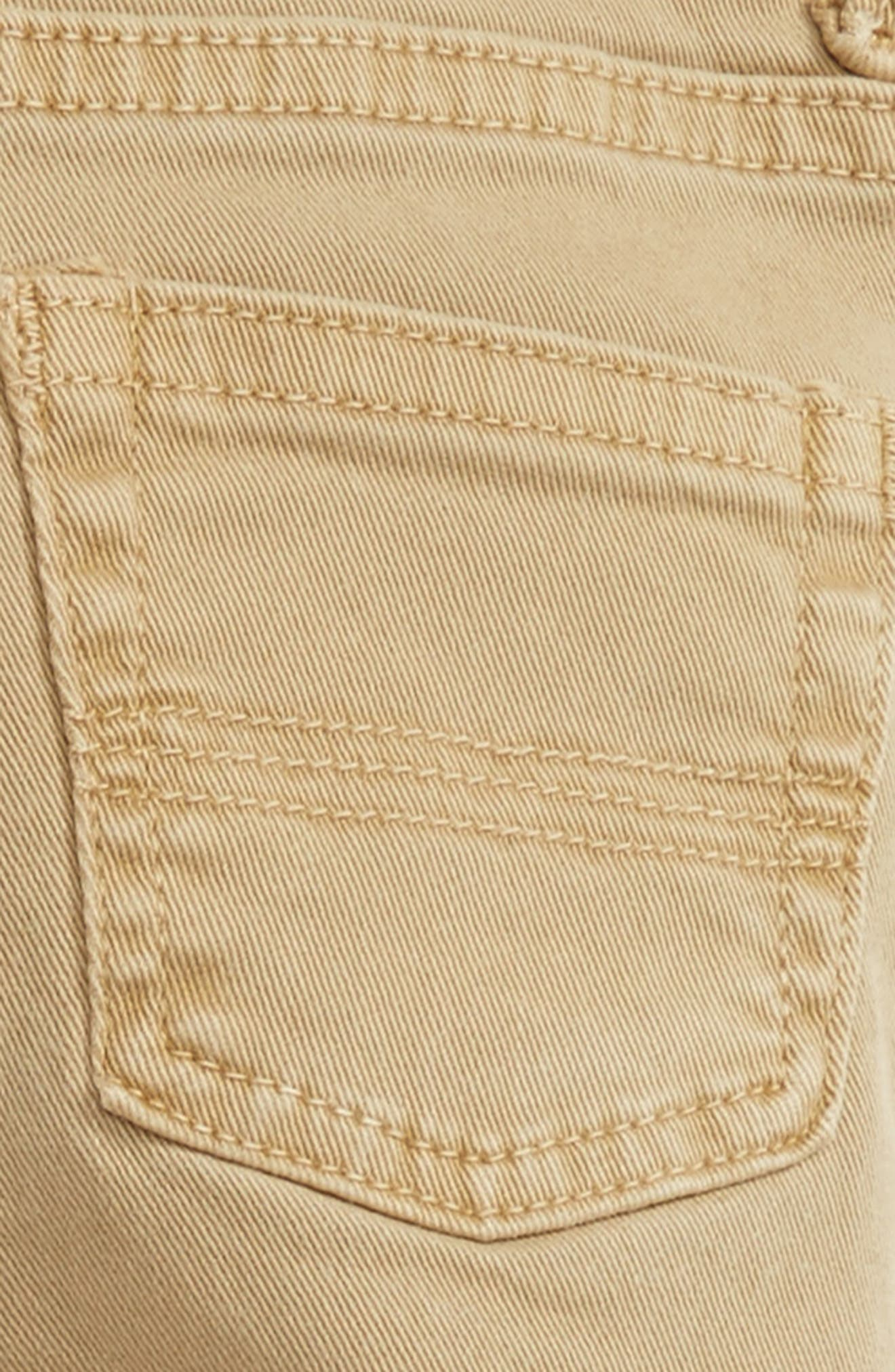 Alternate Image 3  - Peek Slouch Cotton Twill Pants (Baby Boys)