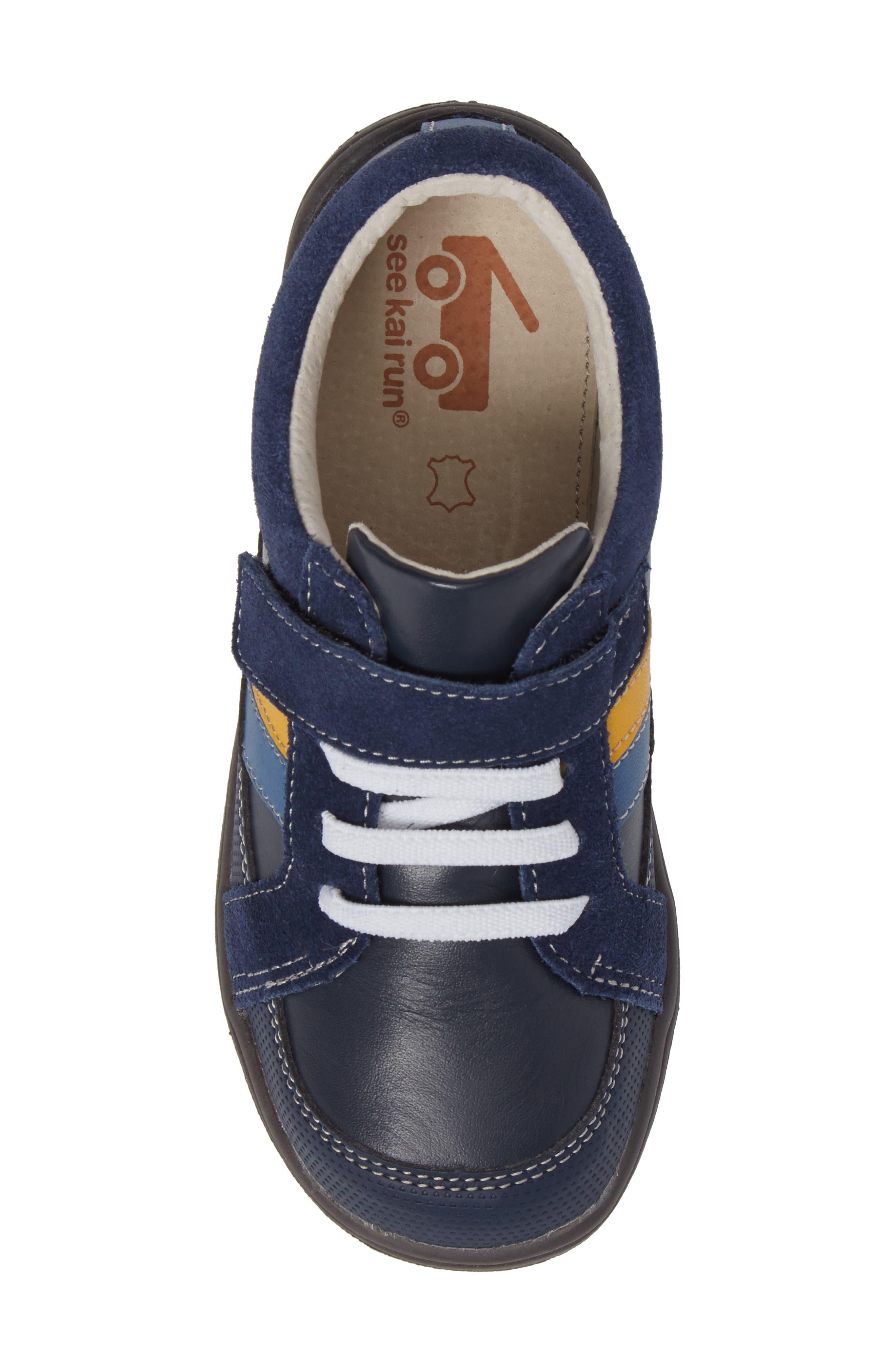 'Randall' Sneaker,                             Alternate thumbnail 5, color,                             Navy