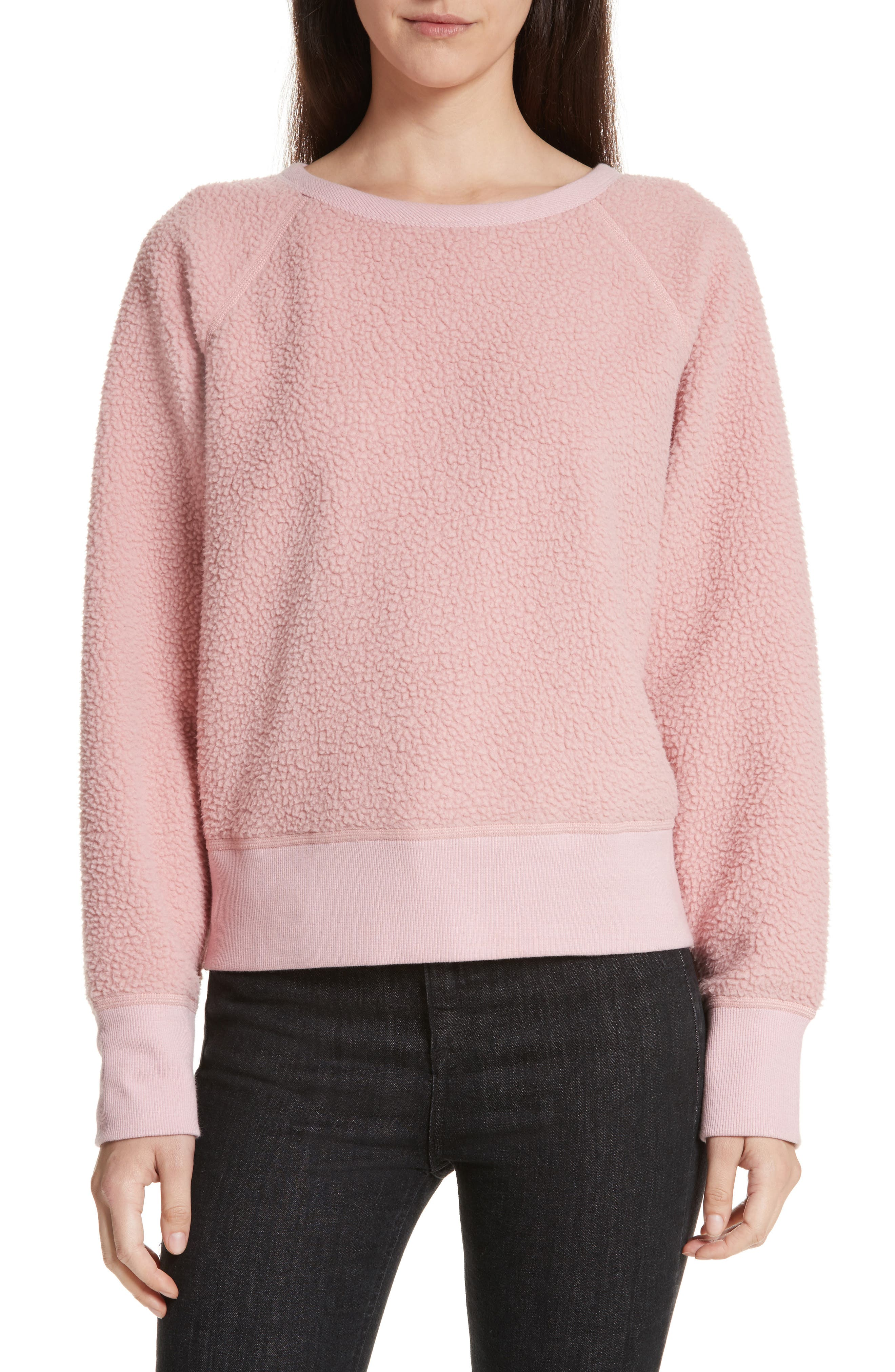 rag & bone/JEAN Fleece Pullover