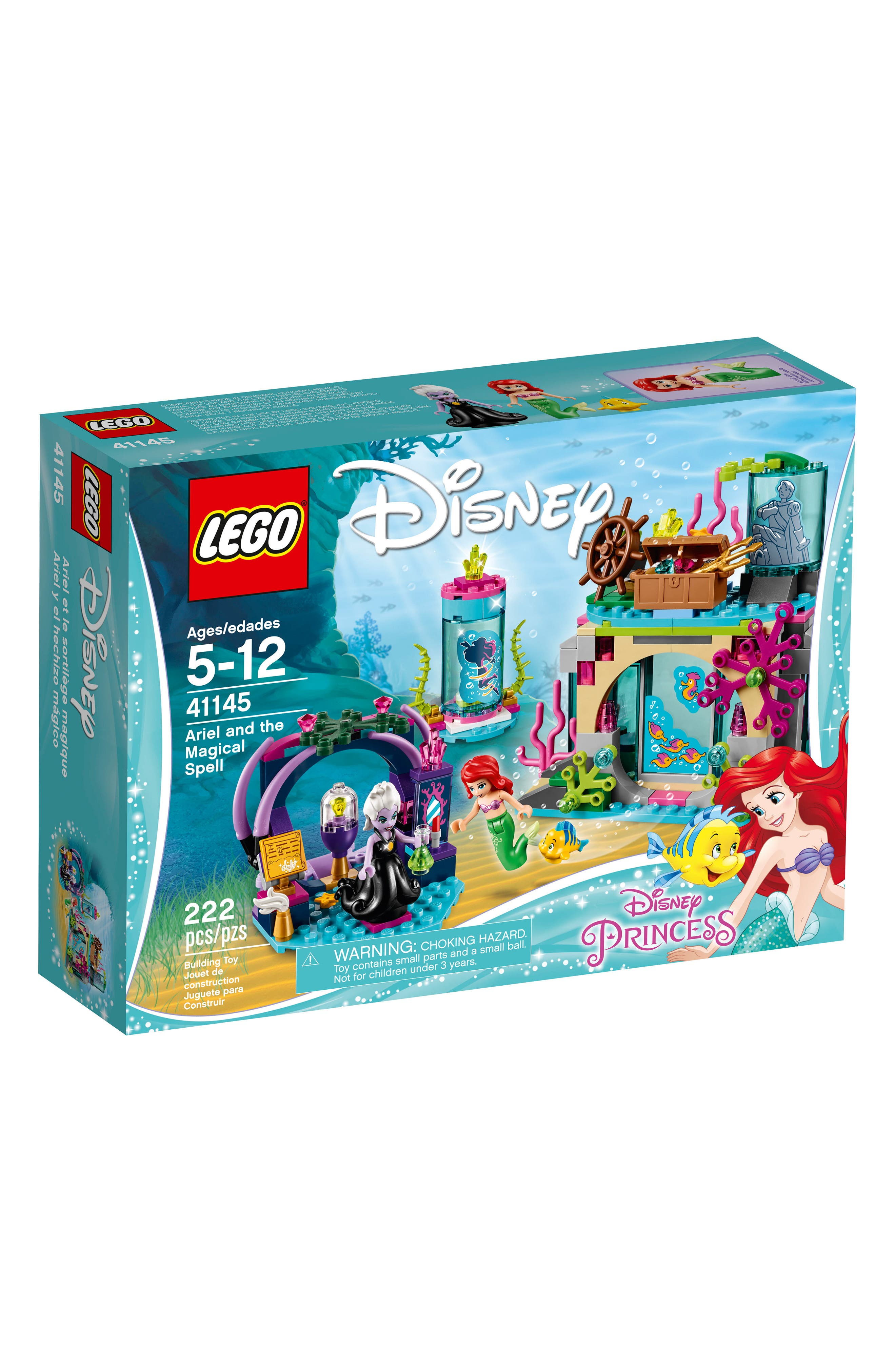 LEGO® Disney Princess™ Ariel and the Magical Spell Play Set - 41145
