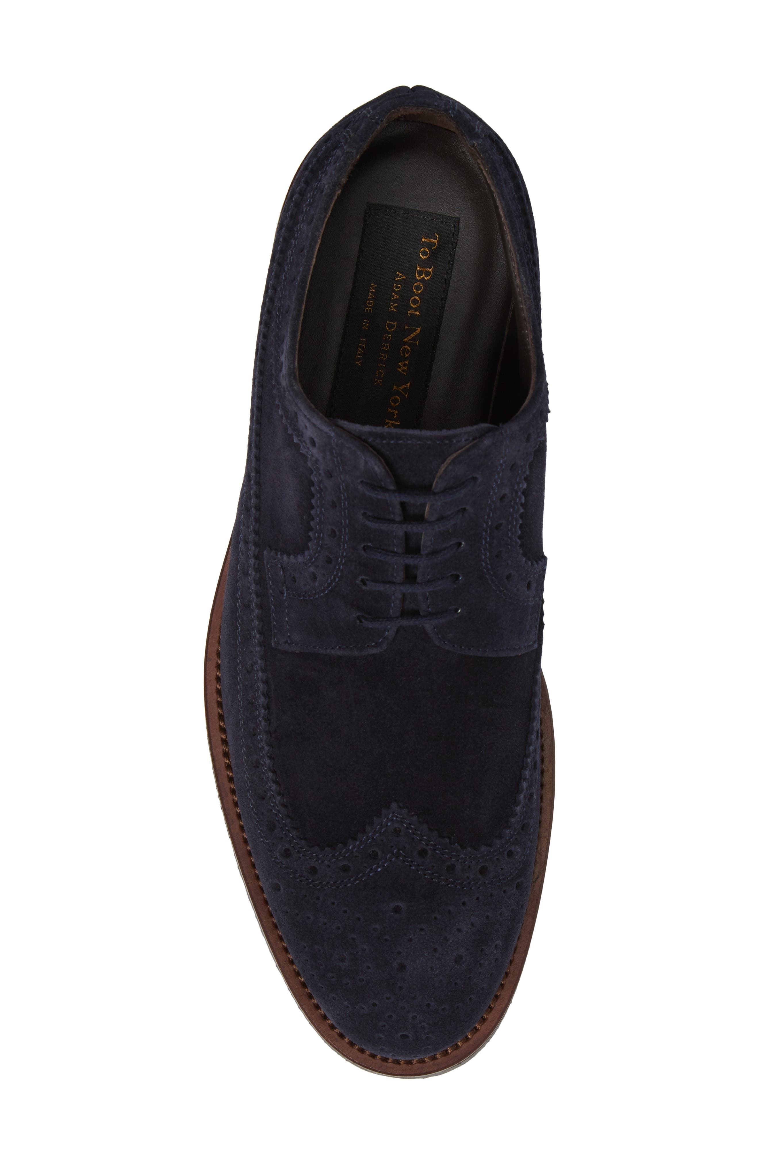 Hillsdale Longwing Derby,                             Alternate thumbnail 5, color,                             Blu Navy