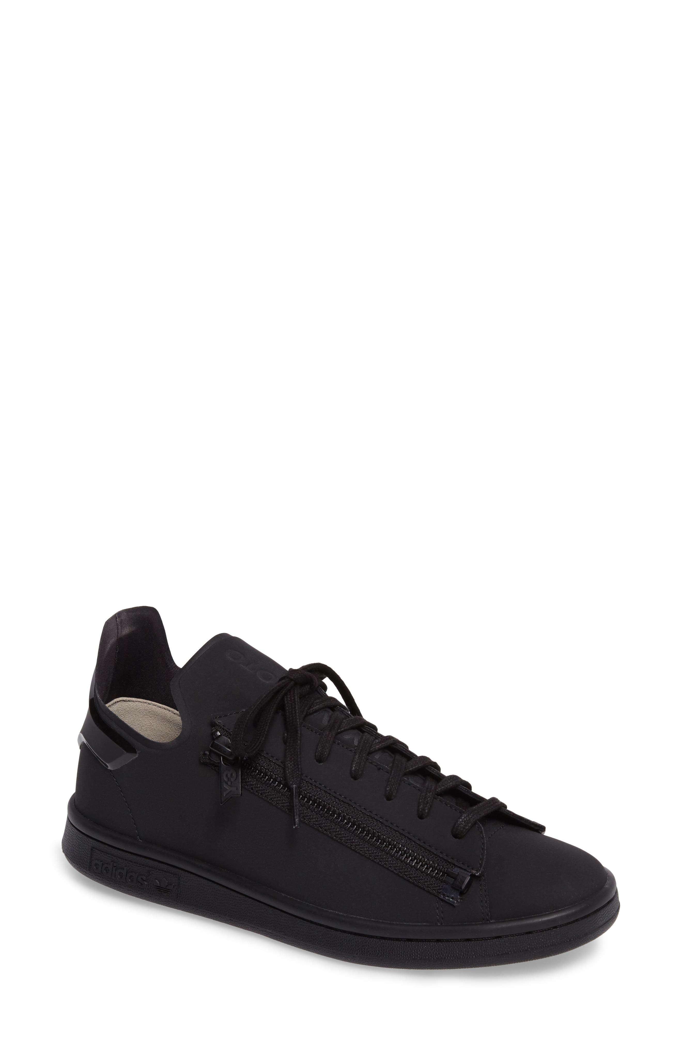 Stan Low Top Sneaker,                         Main,                         color, Core Black