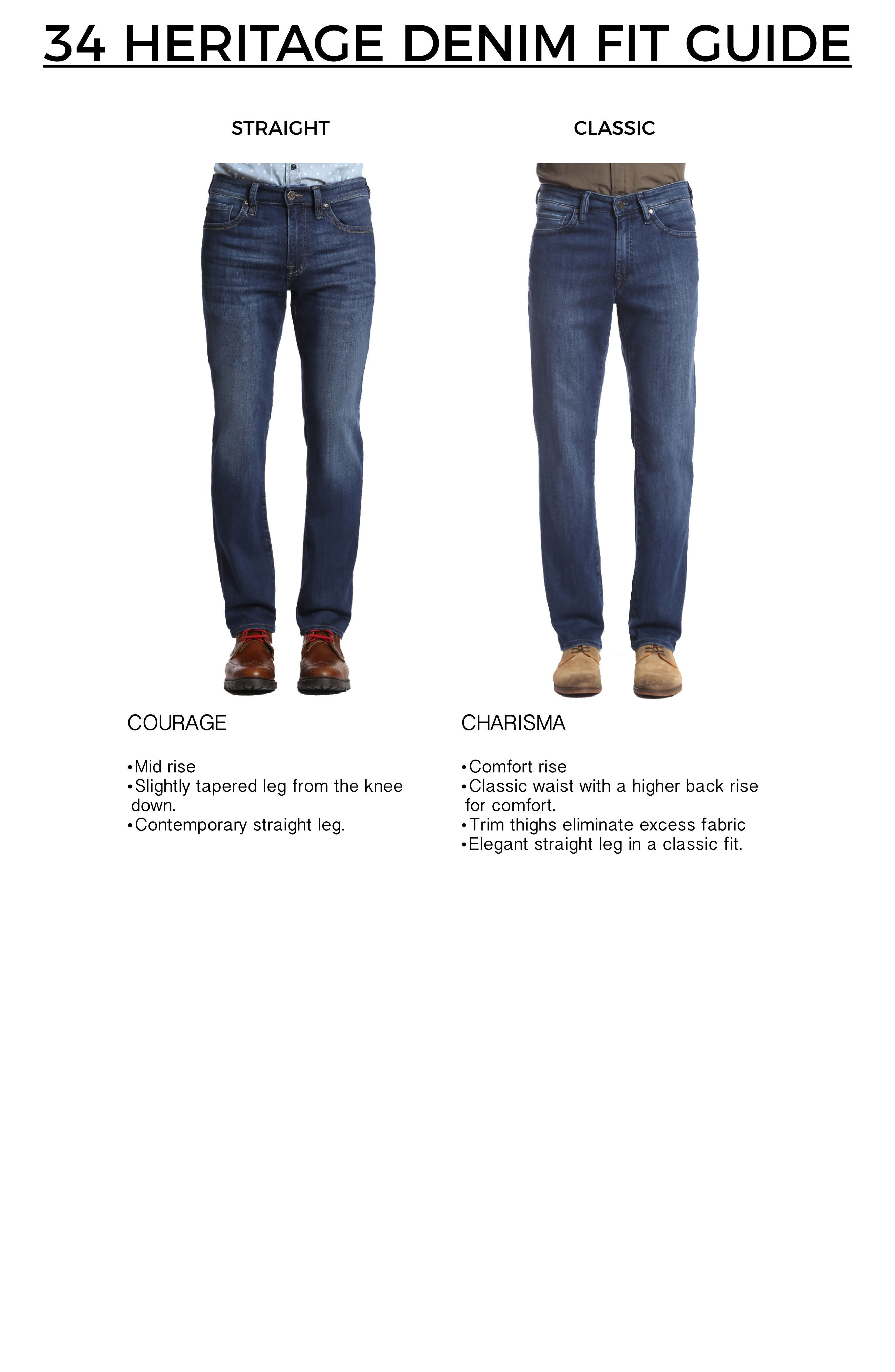 Alternate Image 8  - 34 Heritage 'Charisma' Relaxed Fit Jeans (Brown Comfort) (Regular & Tall)