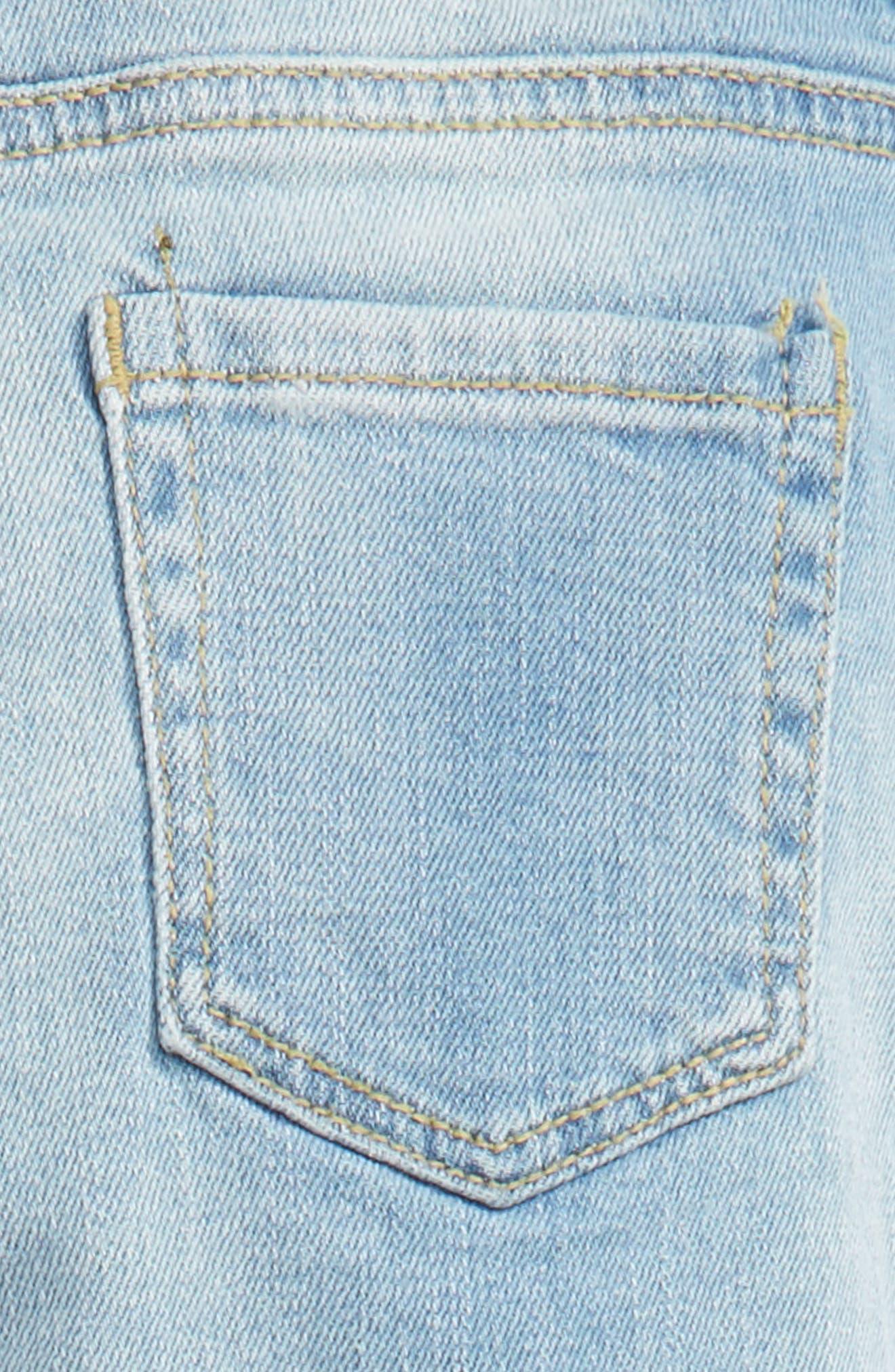 Alternate Image 3  - Peek Celeste Skinny Jeans (Toddler Girls, Little Girls & Big Girls)