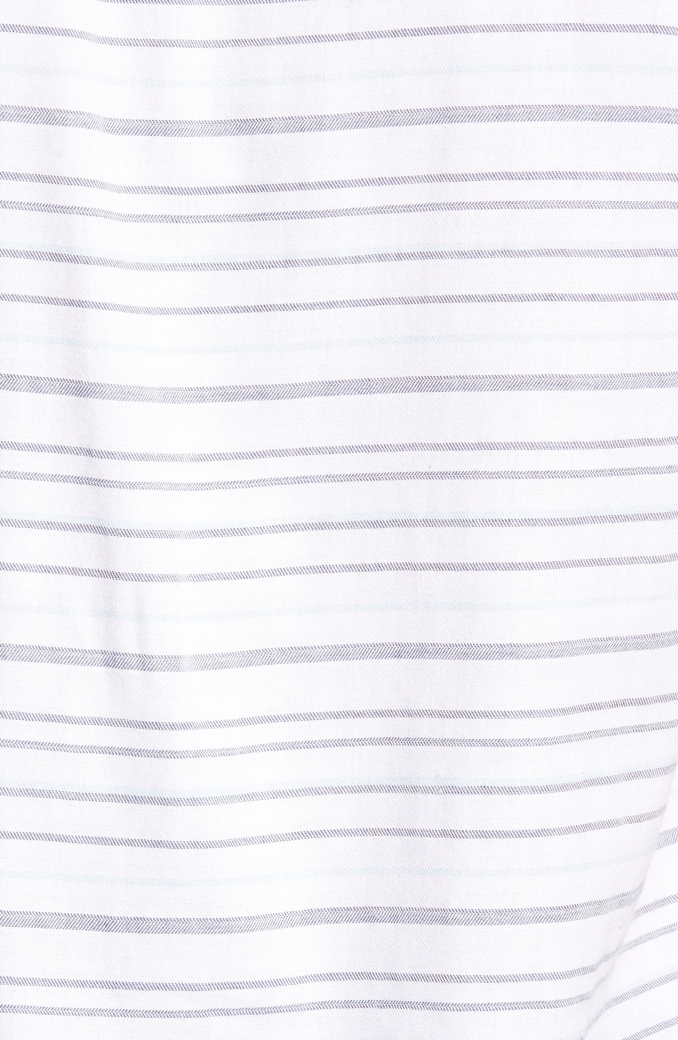 Alternate Image 6  - Travis Mathew Long Board Stripe Sport Shirt