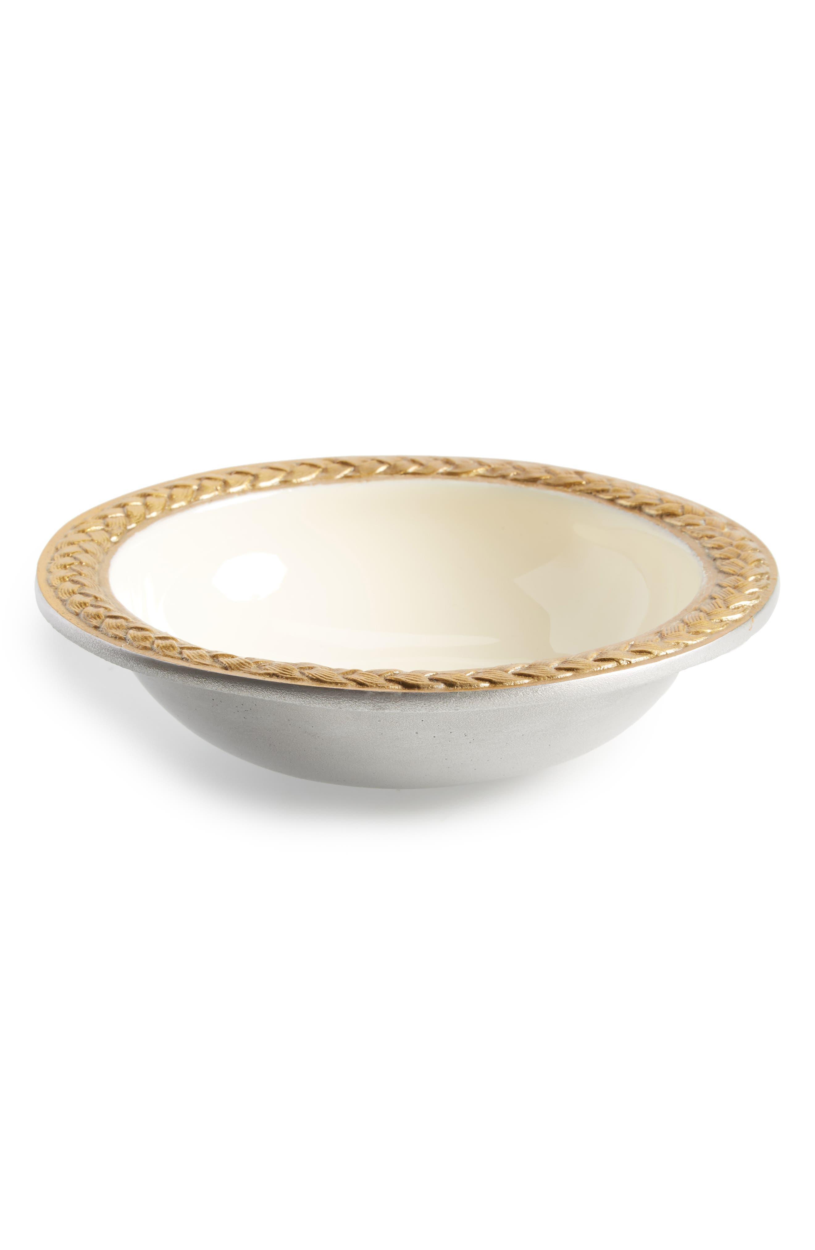Braid Bowl,                             Main thumbnail 1, color,                             White