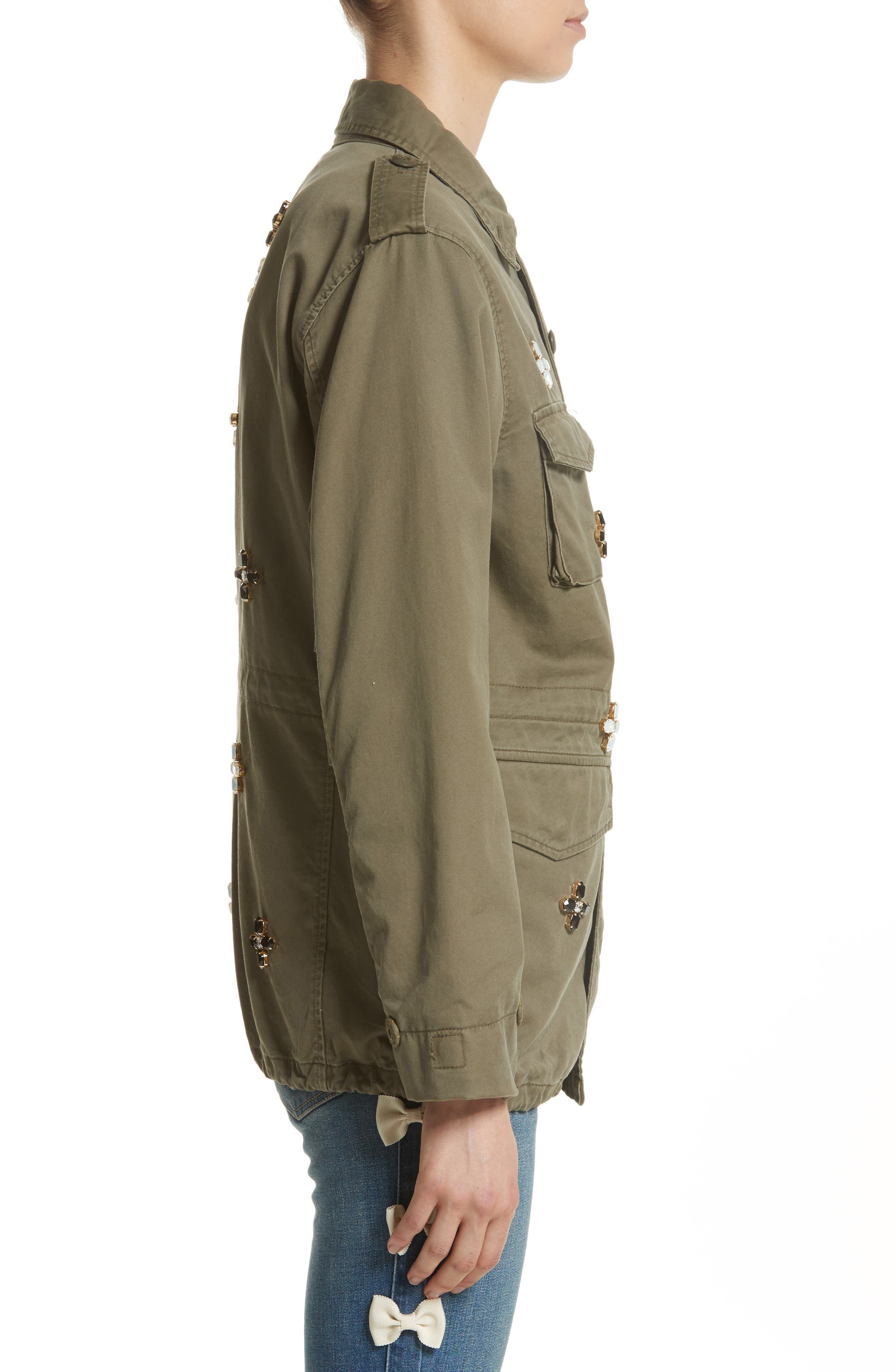 Alternate Image 3  - Tu es mon TRÉSOR Bijou Flower Field Jacket