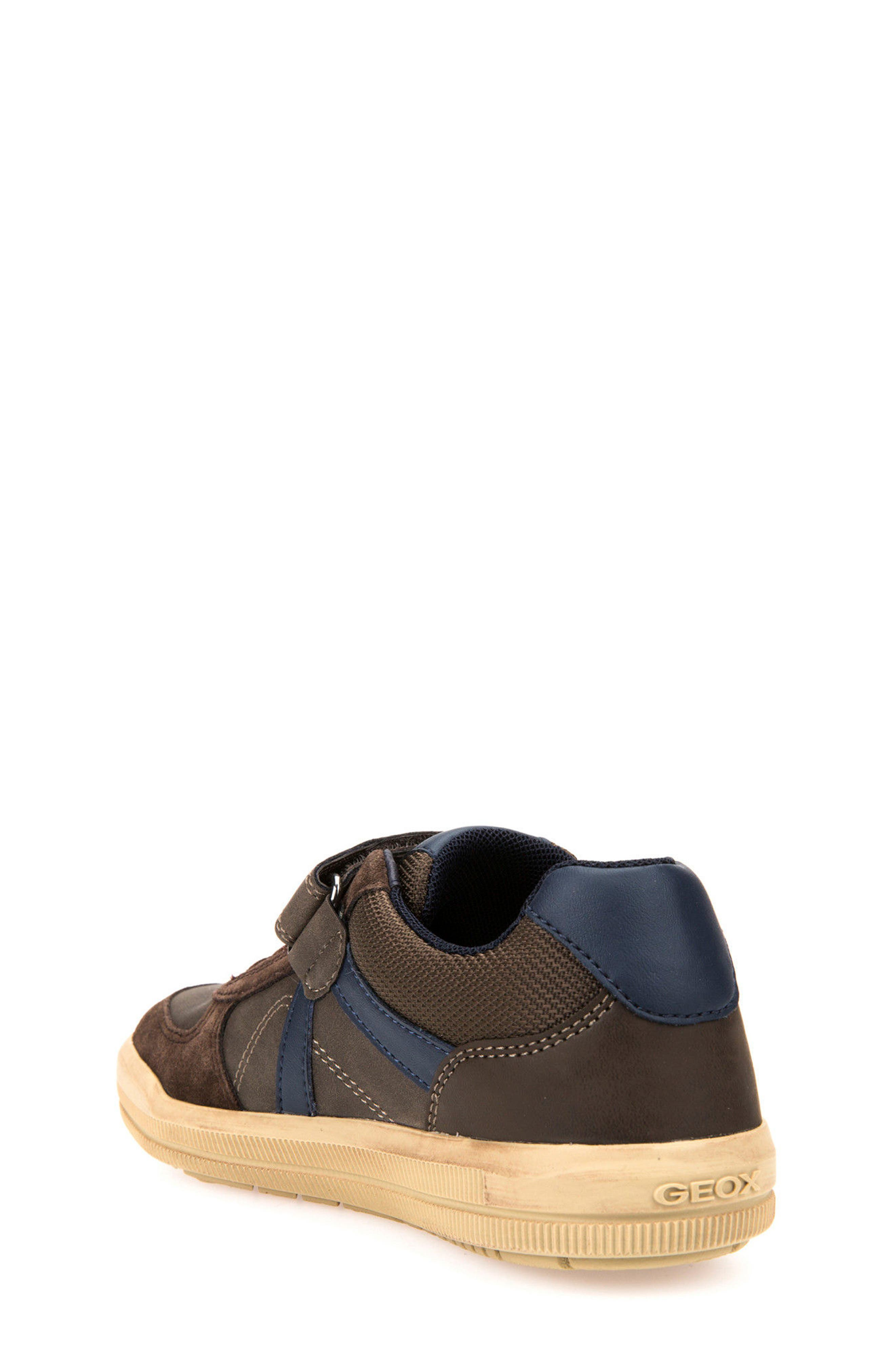 Arzach Low Top Sneaker,                             Alternate thumbnail 2, color,                             Brown/ Navy