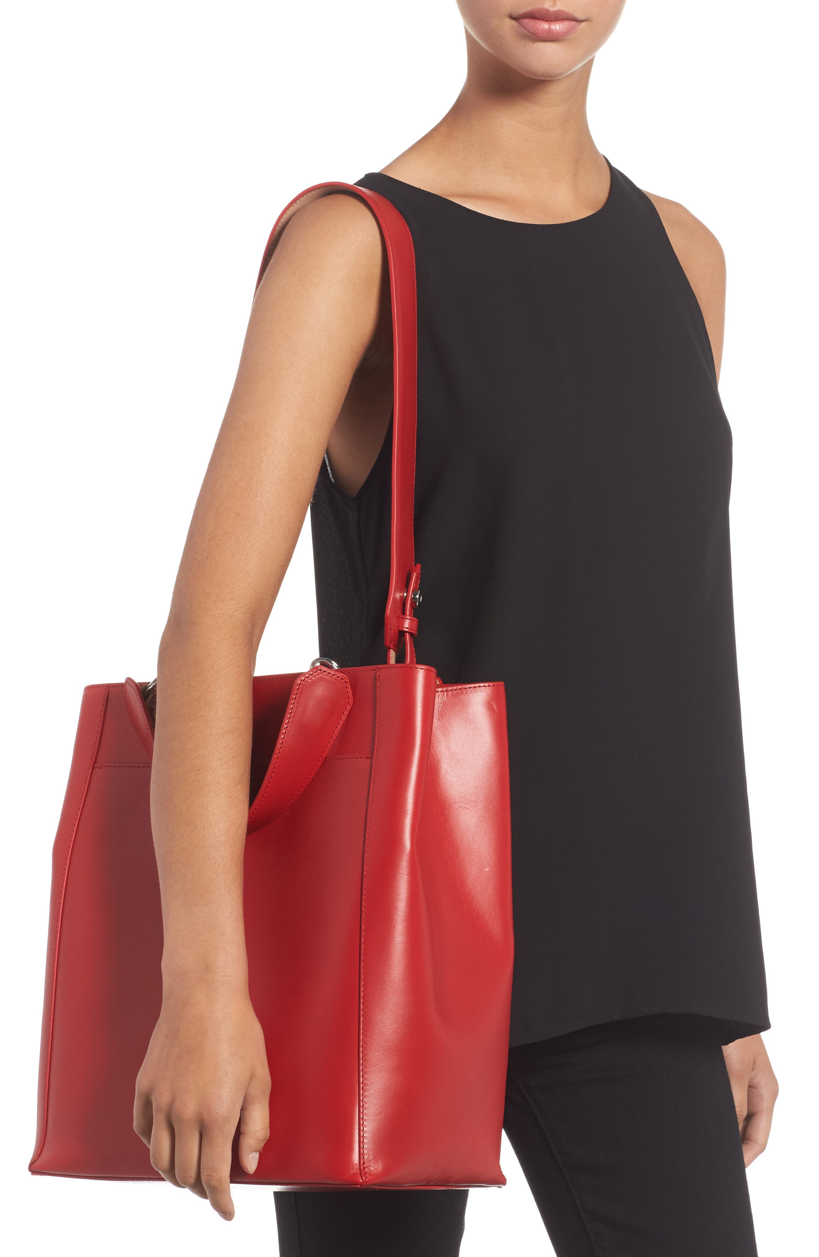 Alternate Image 2  - Elizabeth and James Large Eloise Leather Tote
