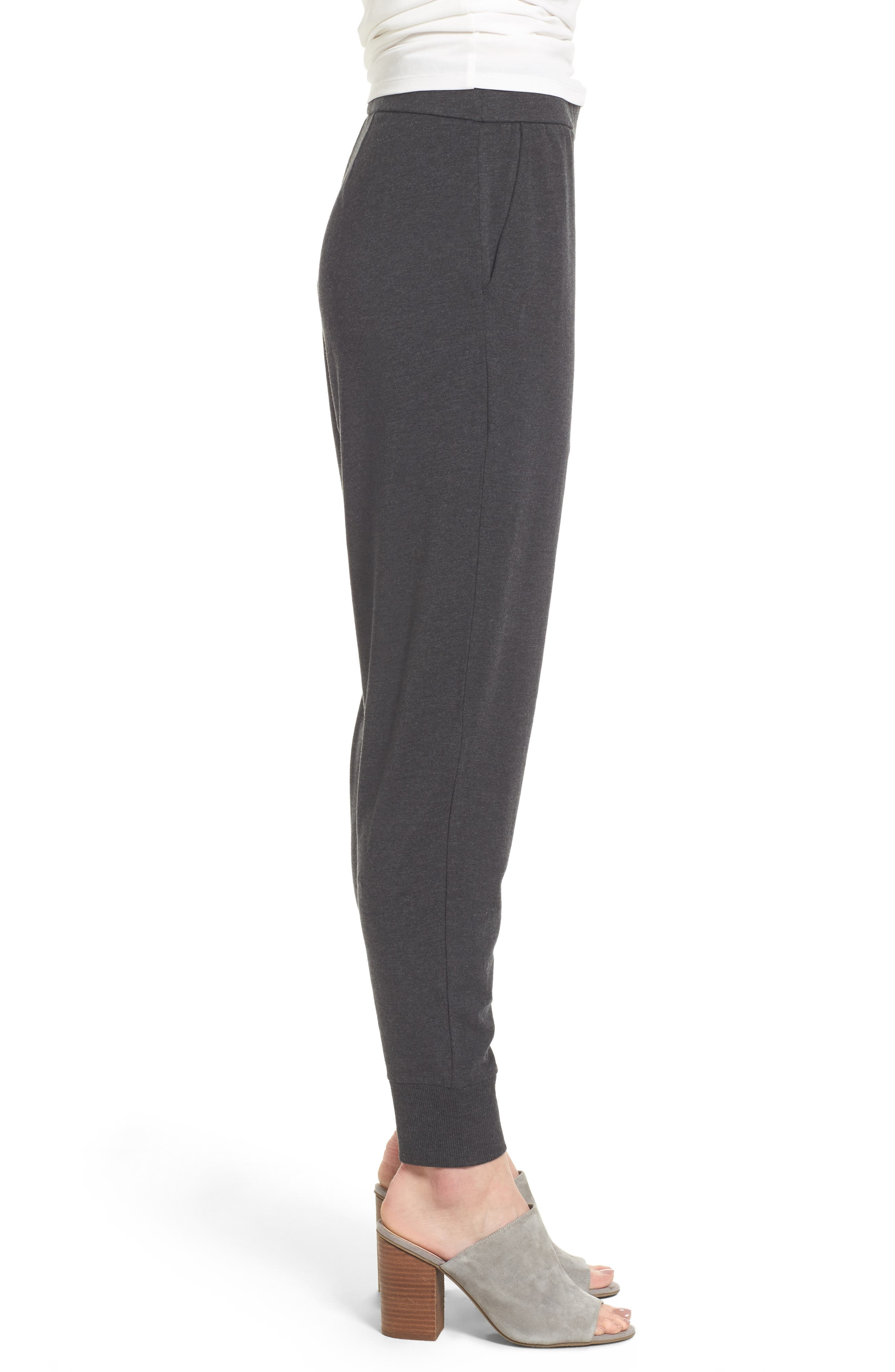 Alternate Image 3  - Eileen Fisher Slouchy Knit Pants