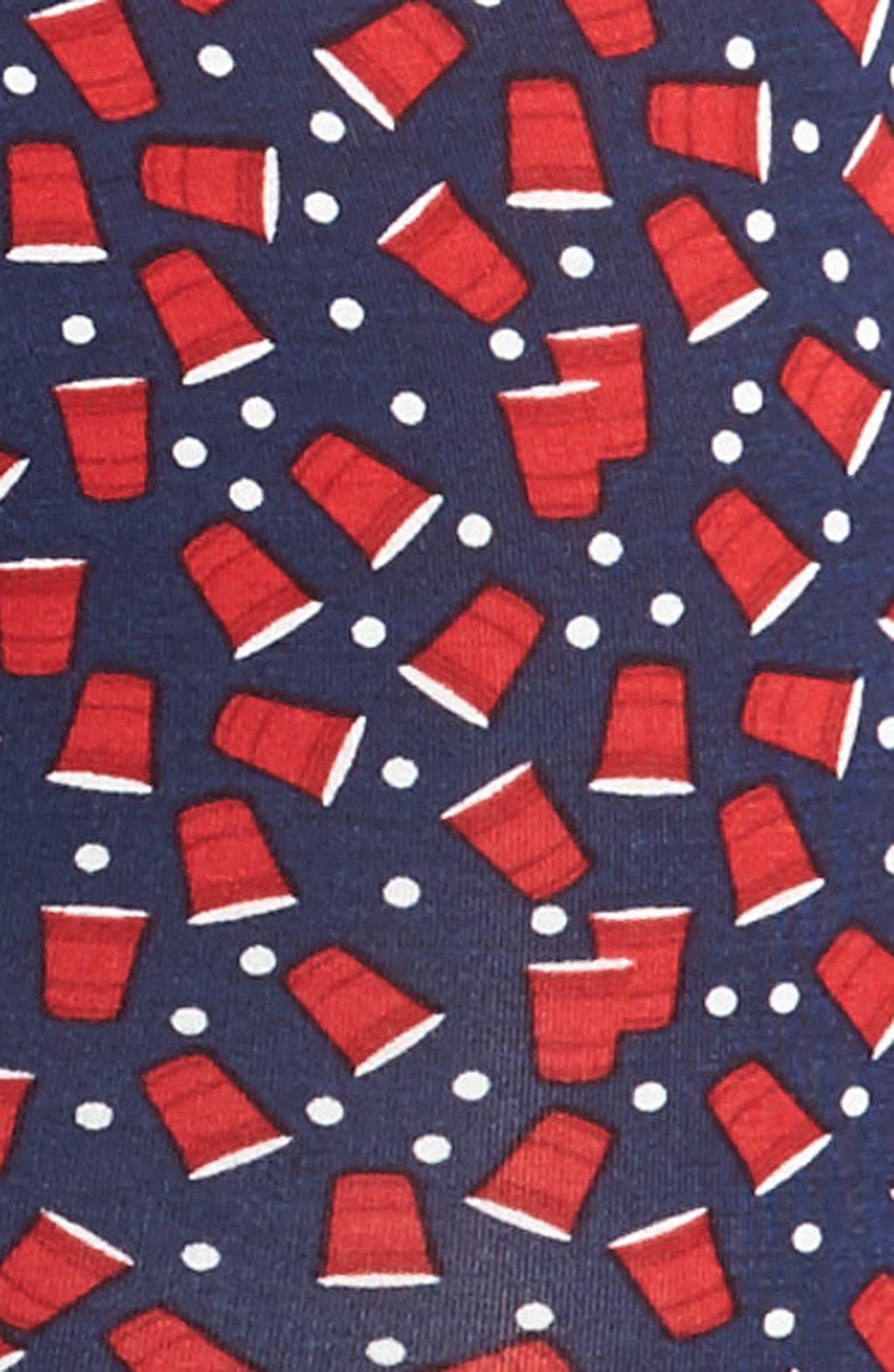 Vibe Print Boxer Briefs,                             Alternate thumbnail 4, color,                             Beer Pong