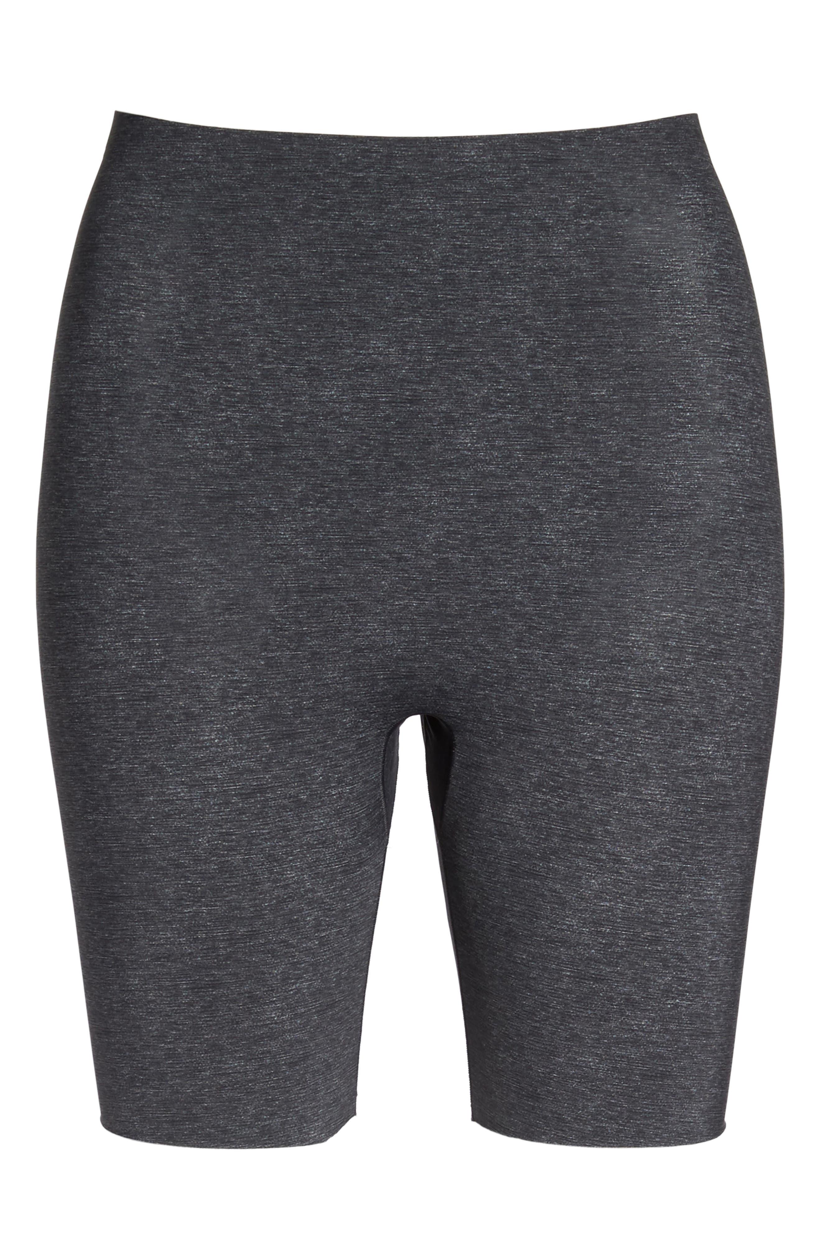 Alternate Image 4  - SPANX® Thinstincts Mid Thigh Shorts